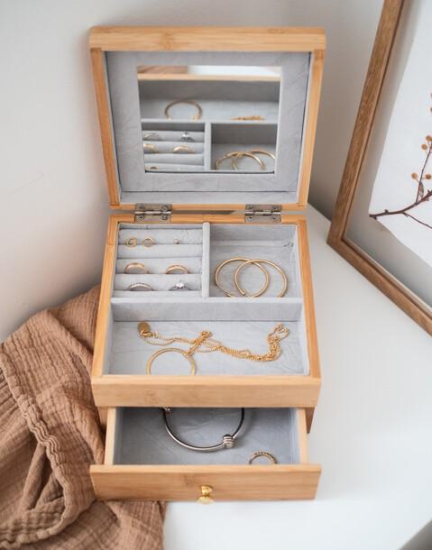 bamboo jewelry box
