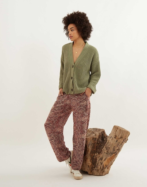 pantalon vivo print barroco