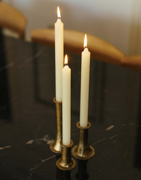 large candles pack of 6