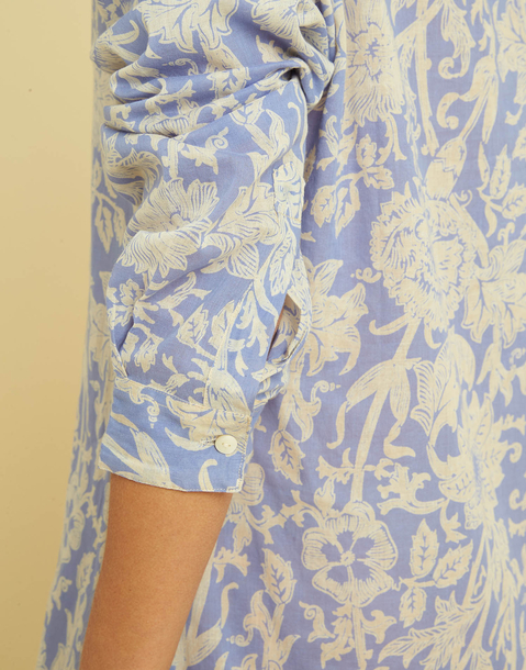 VOILE TUNIC DRESS