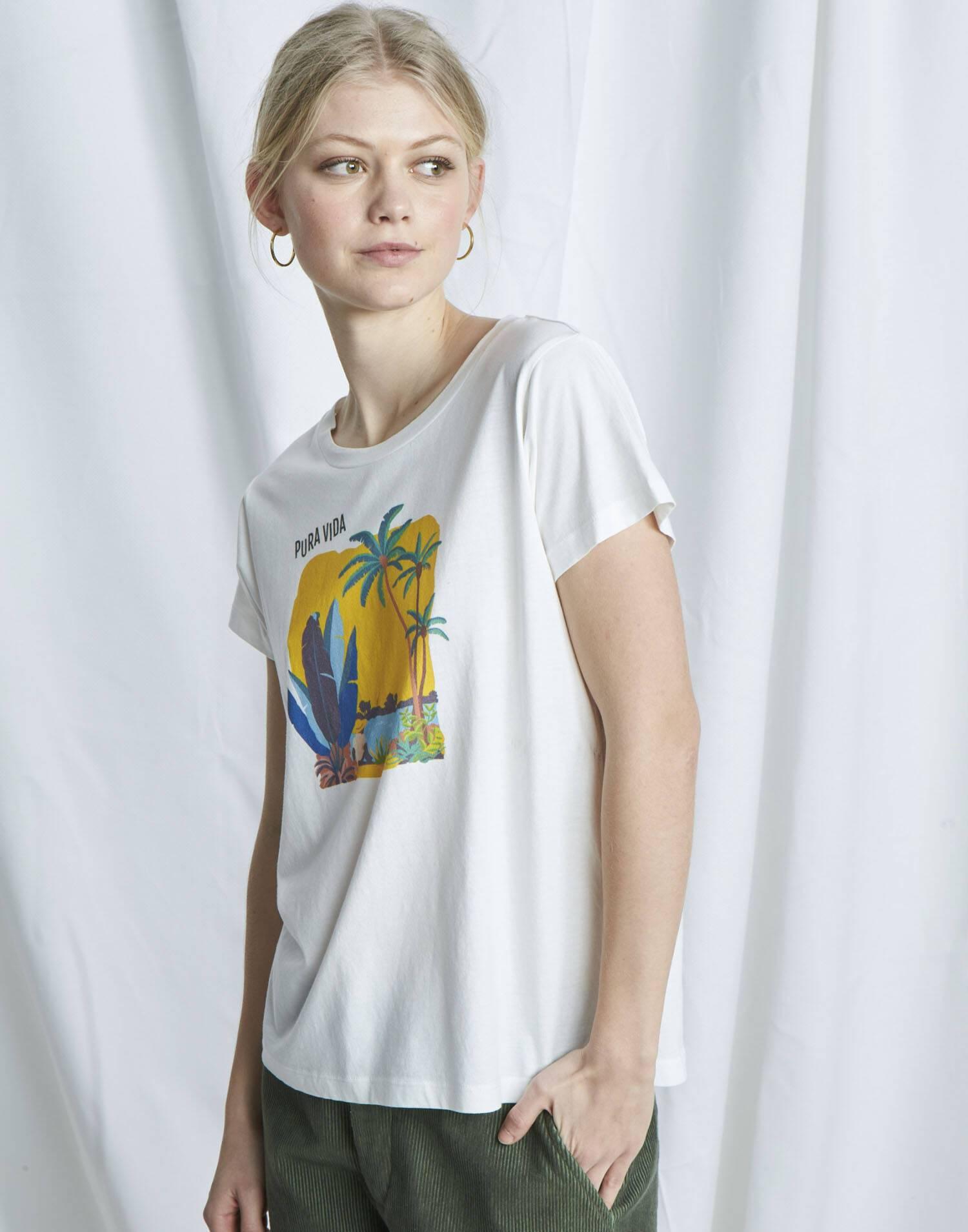 """Bio t-shirt """"pura vida"""""""