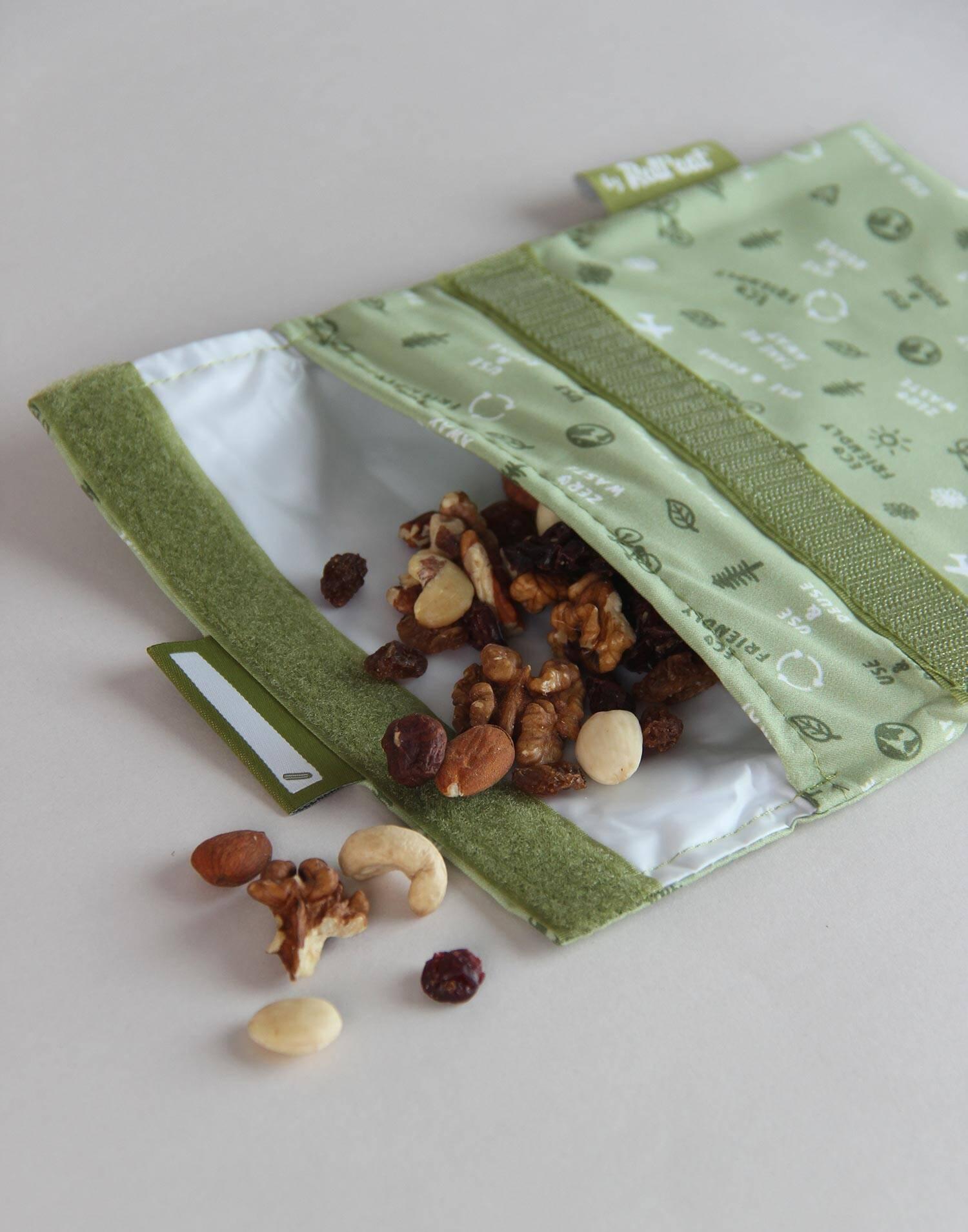 Porta snack reutilizable