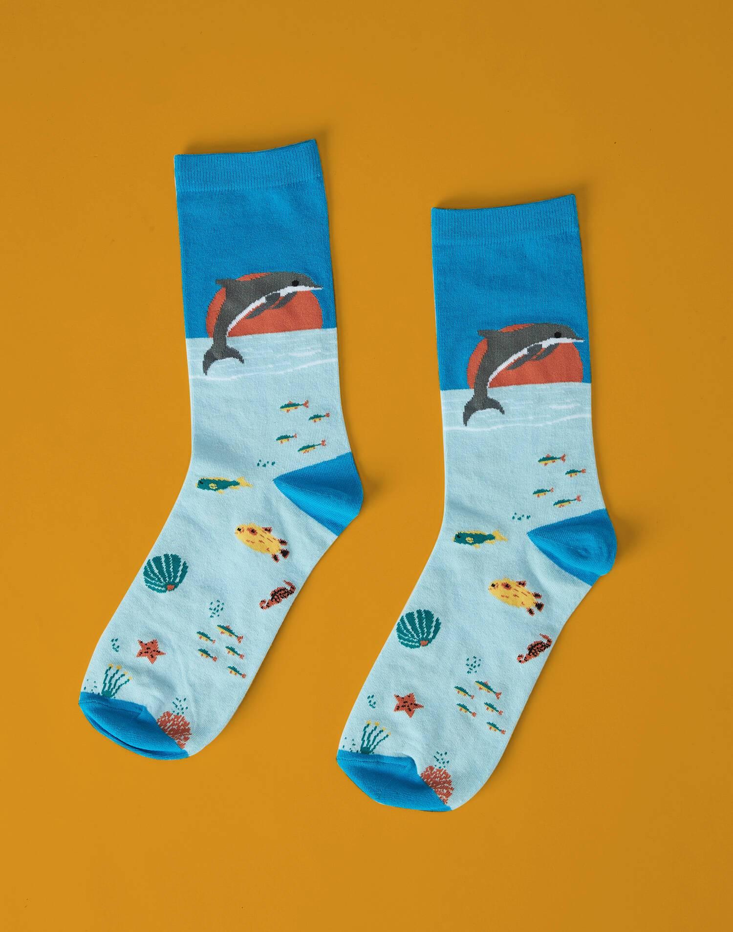 Seabed man socks