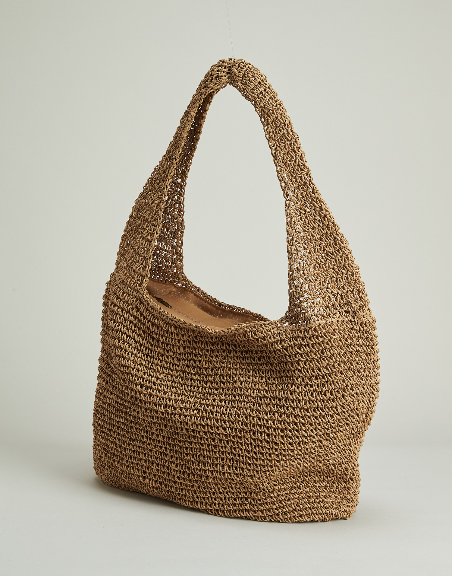Paper hobo bag