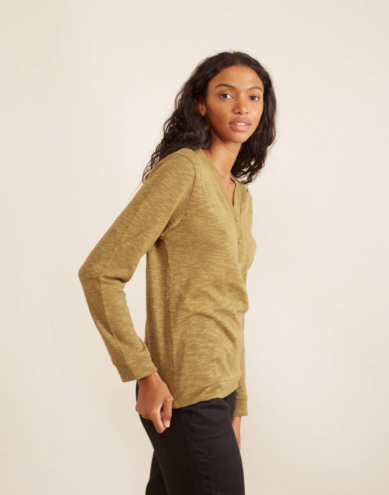 Rustic henley shirt