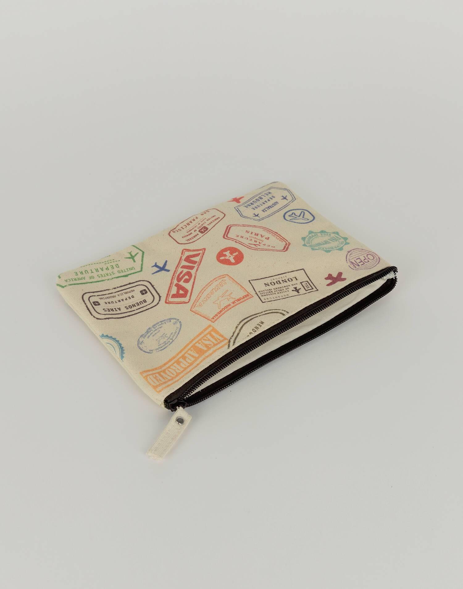 Big visa pouch