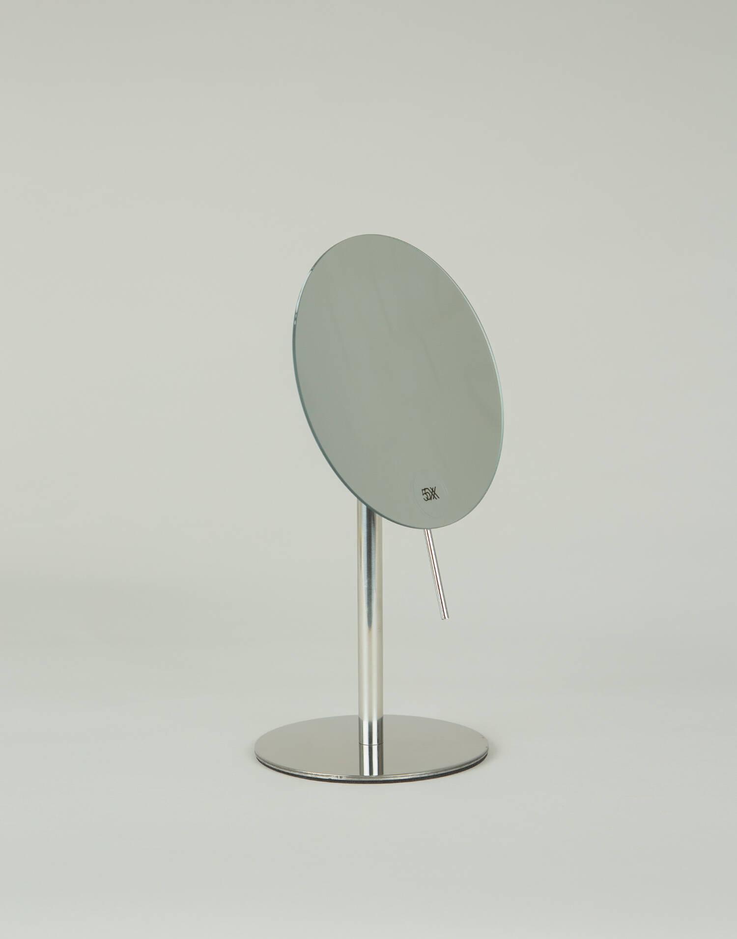 Adjustable base mirror