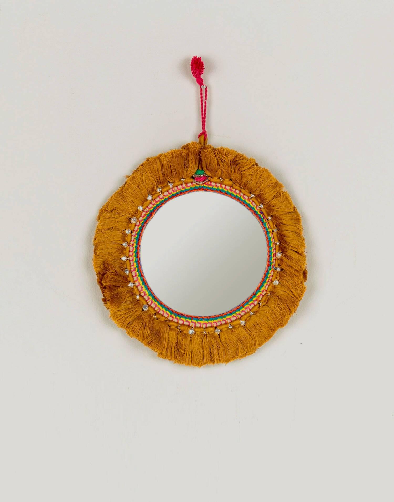 Round hanging mirror 22 cm