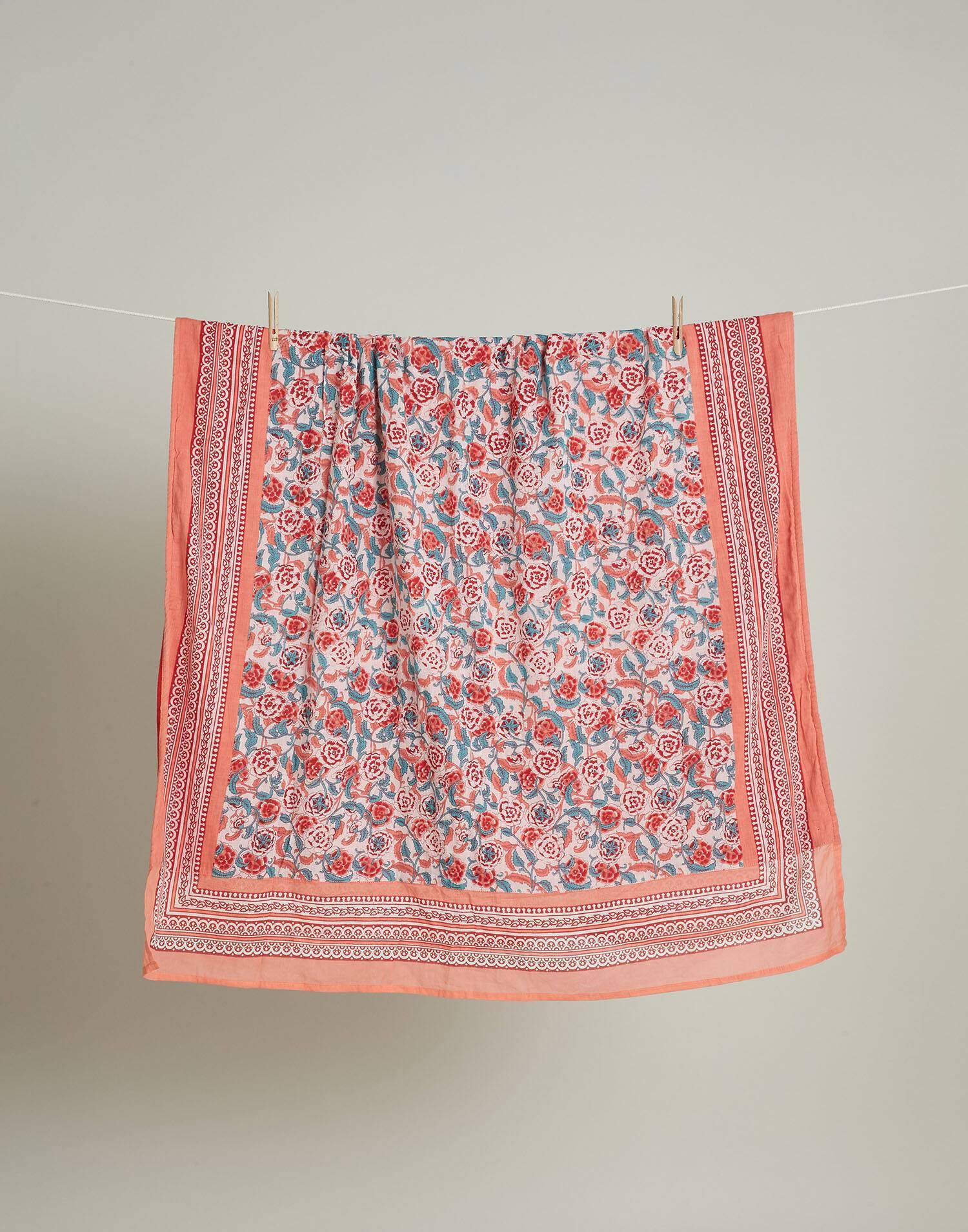 Pareo toalla flor clavel