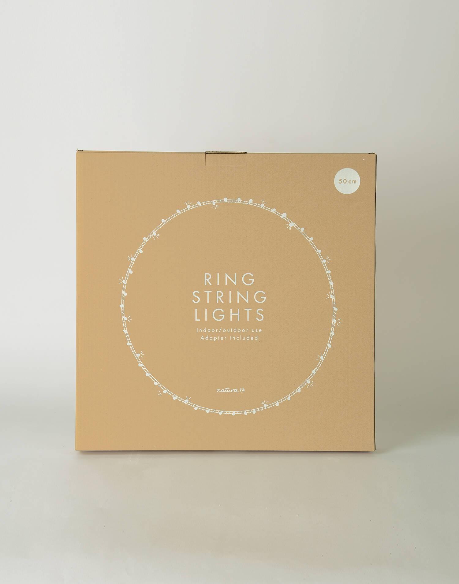 Big ring string lights