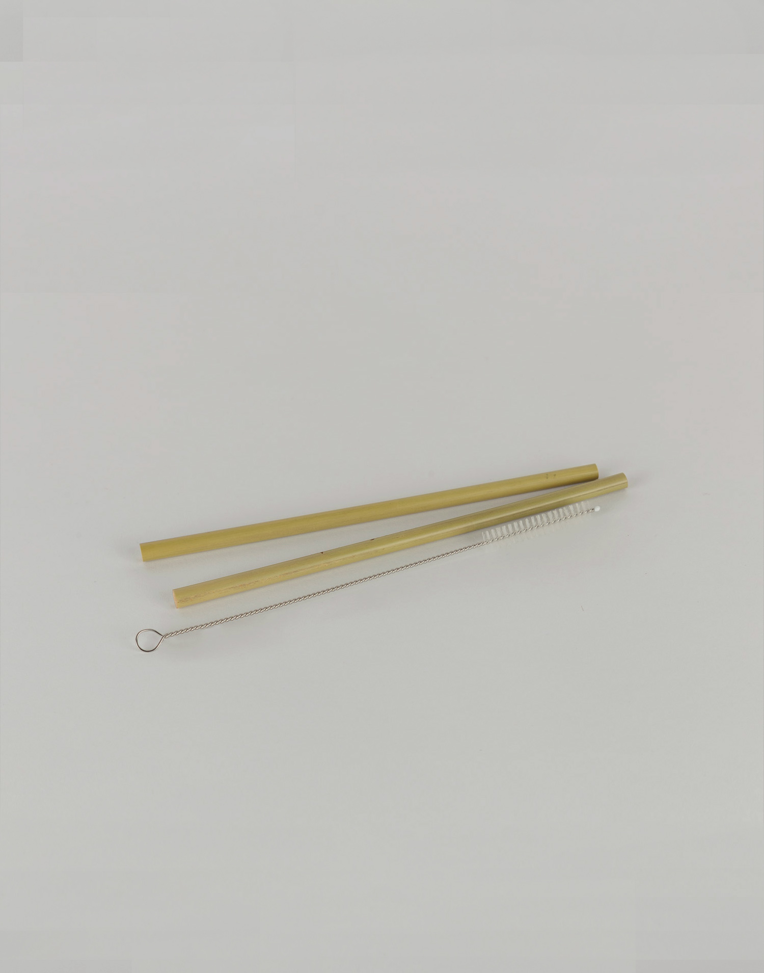 Bamboo straws set of 2
