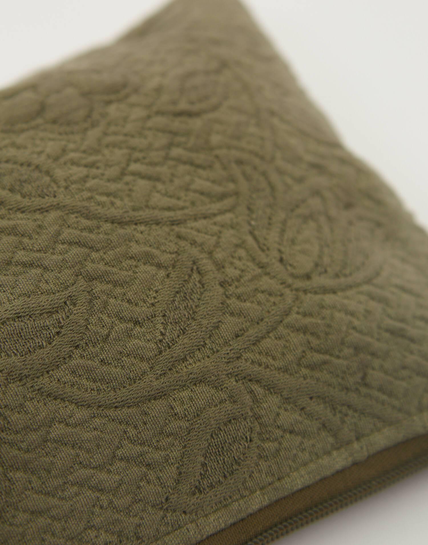 Clutch jacquard algodón