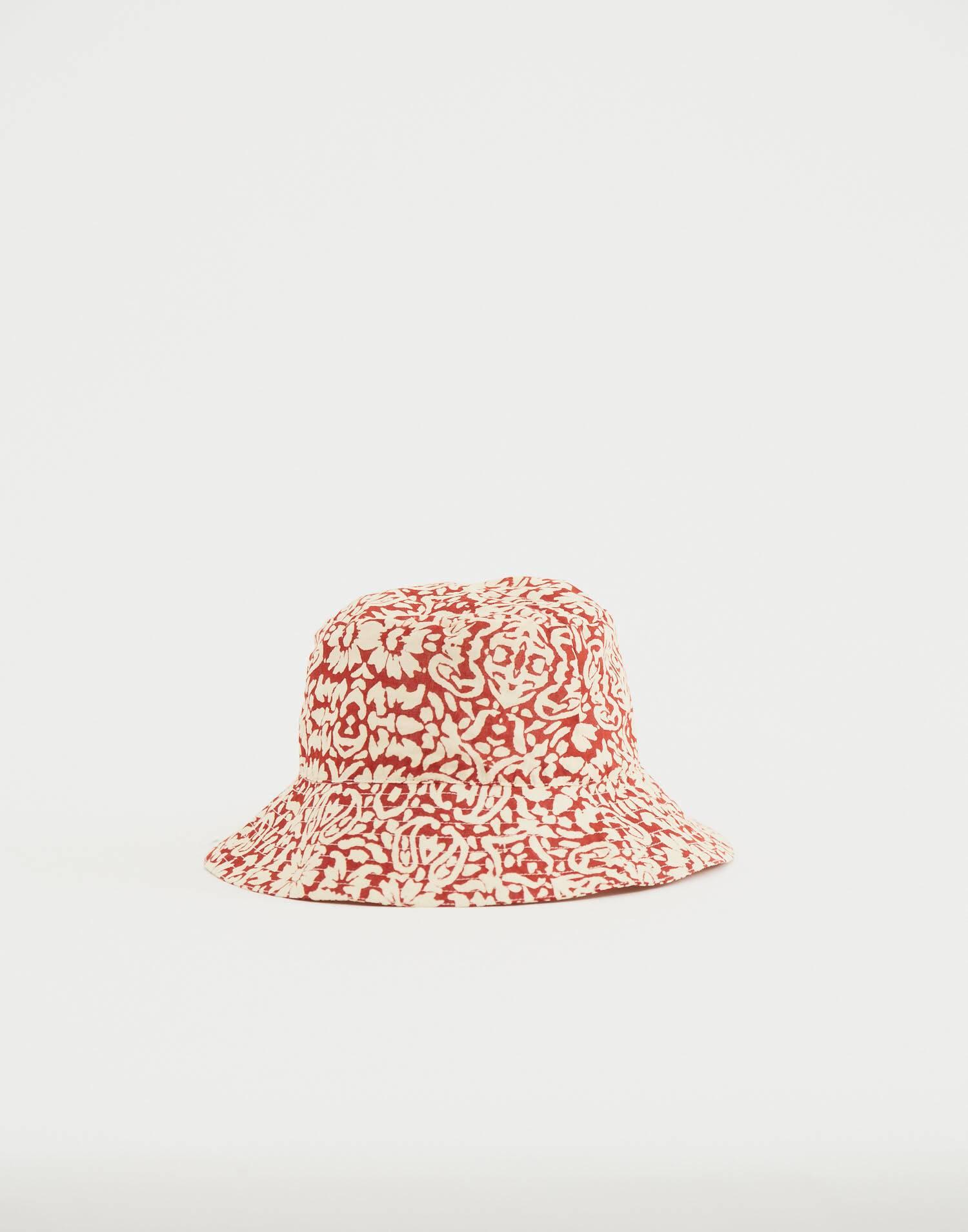 Abstract print bucket hat