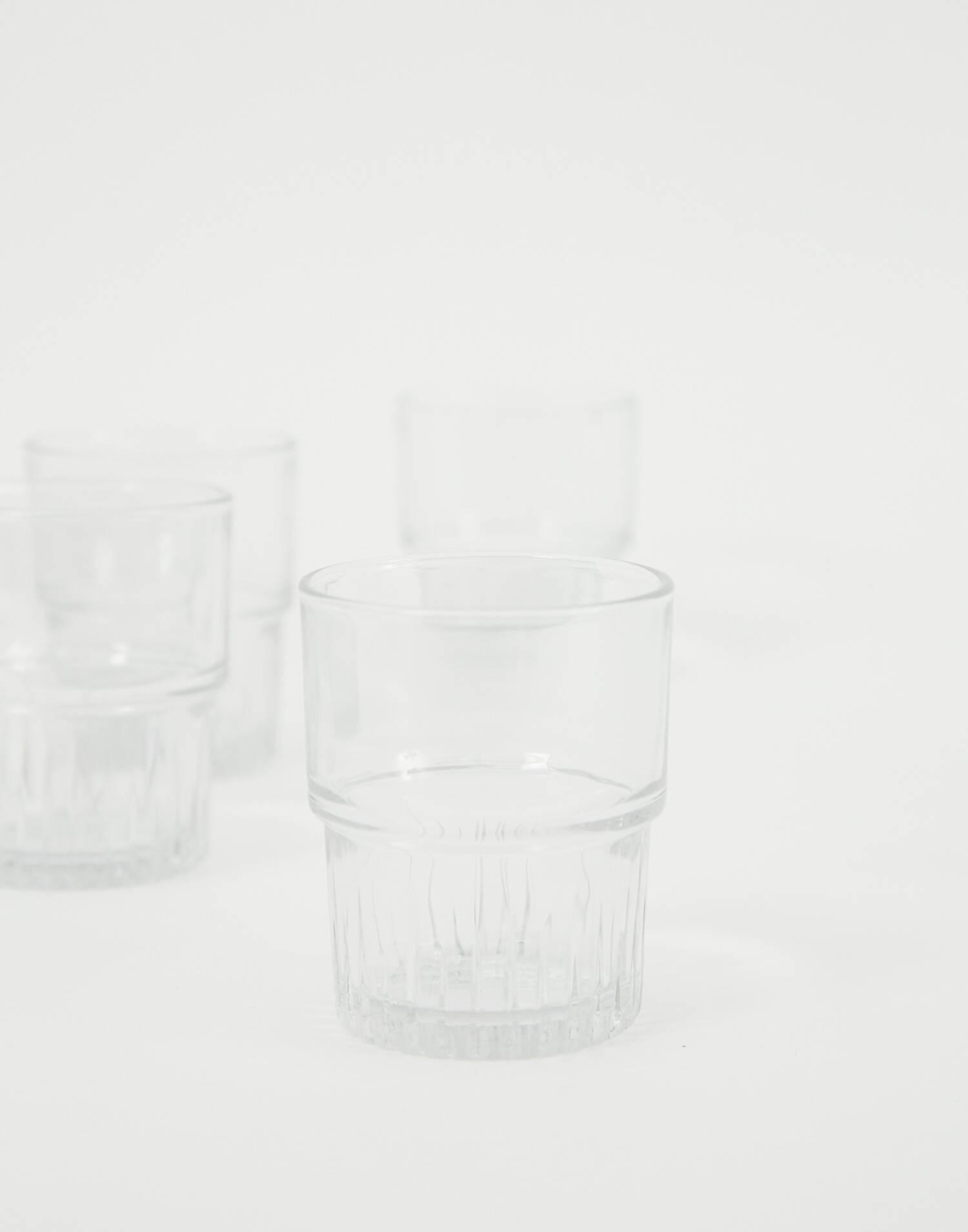 Set 6 vasos duralex apilables 20cl
