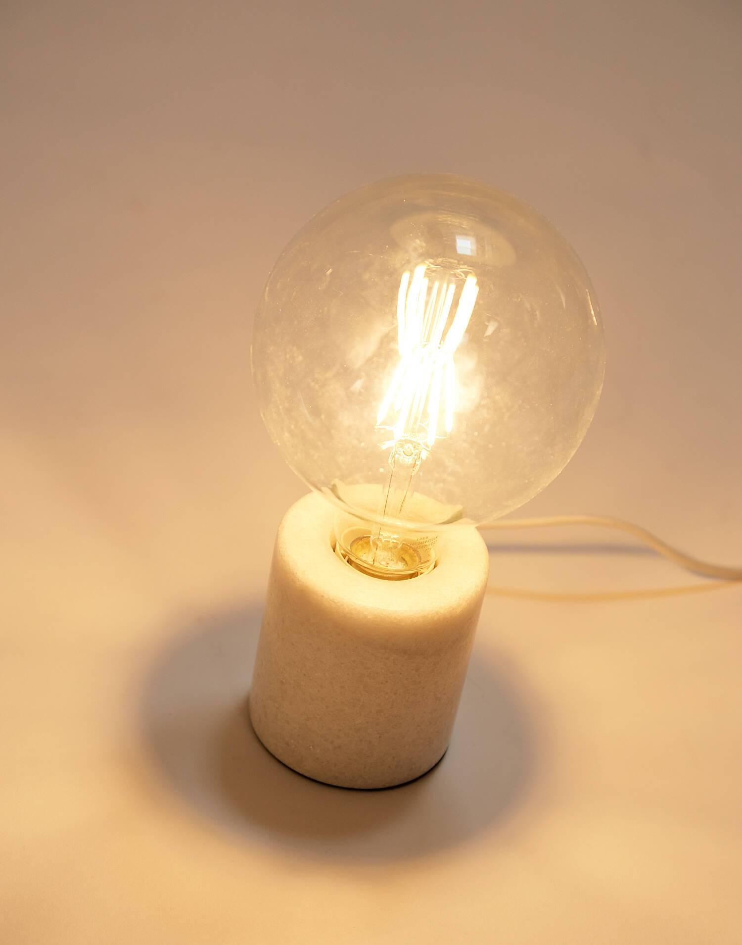 Lámpara mármol