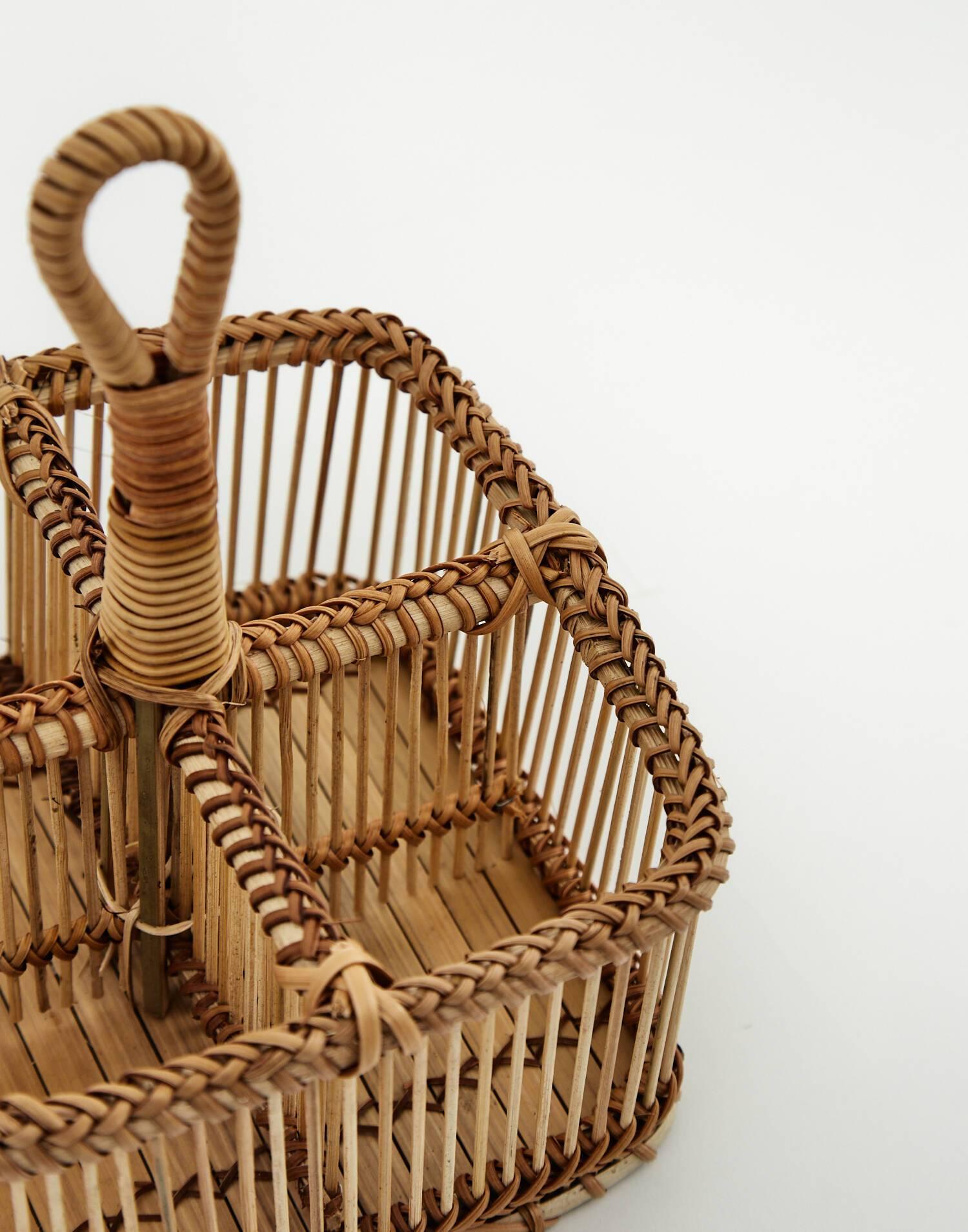 Organizador bambú