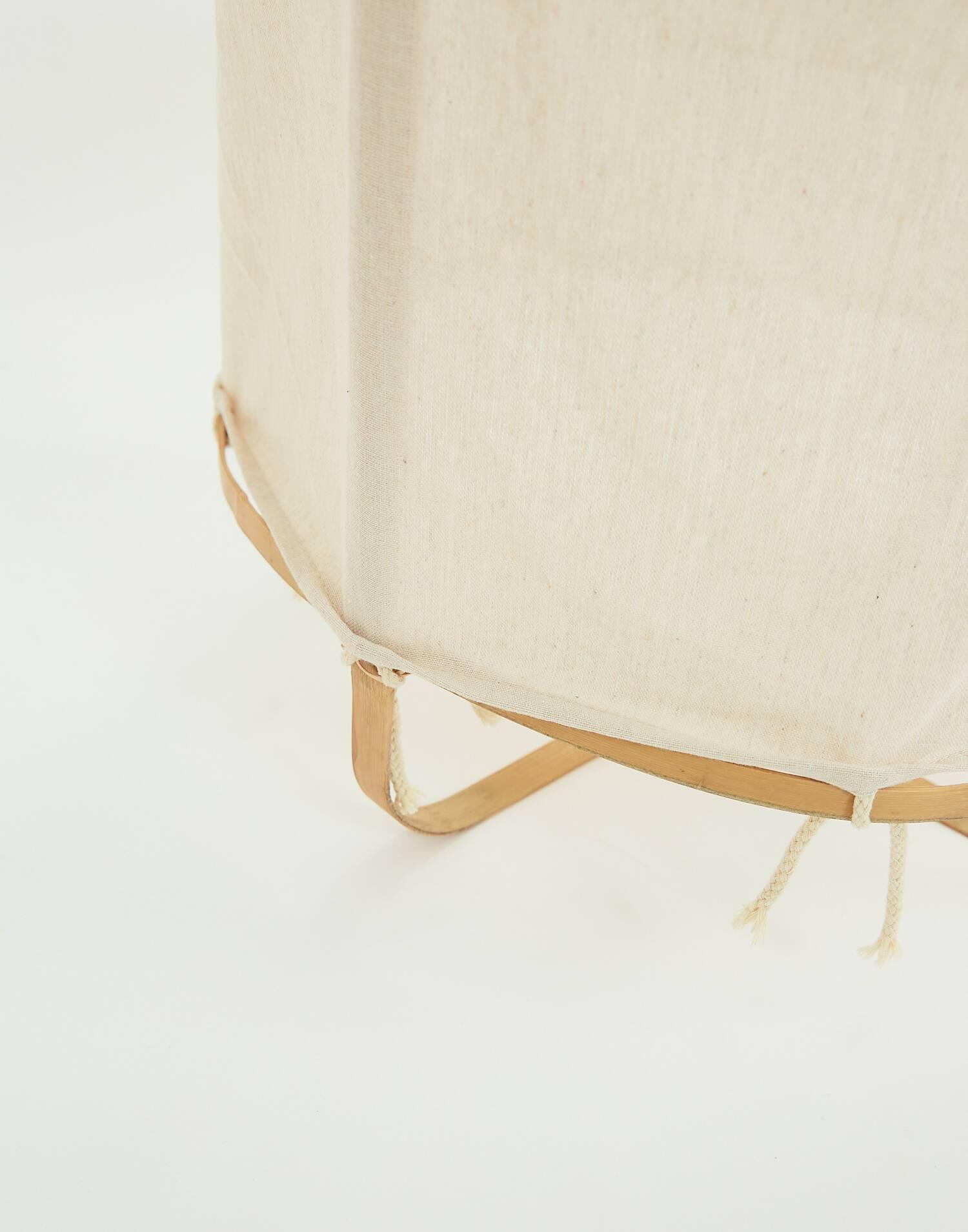 Lámpara techo algodón