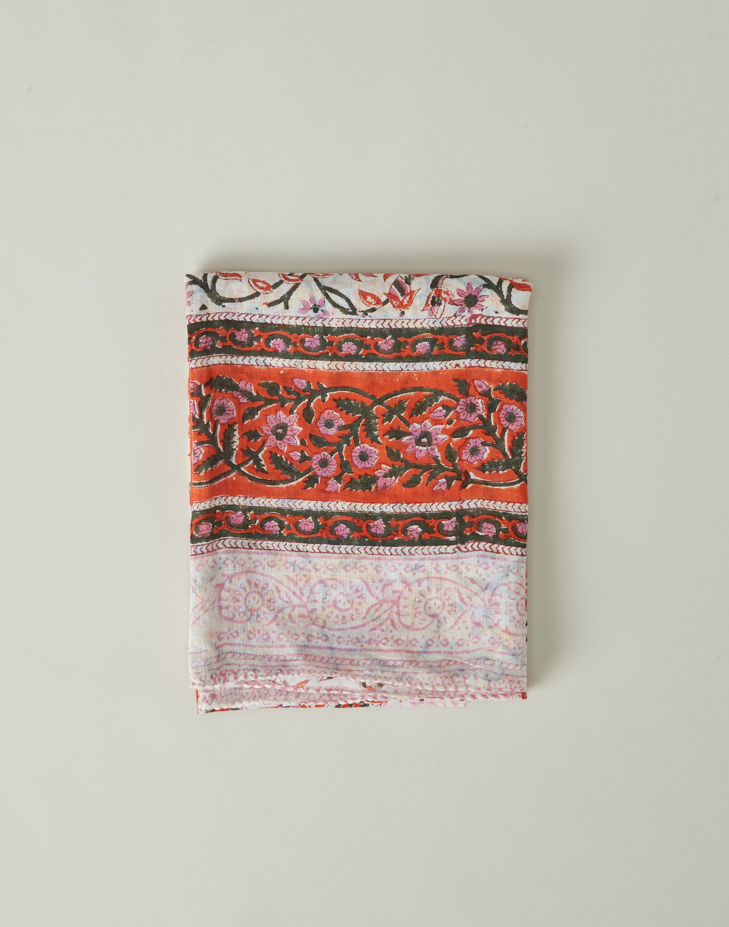 Indian daisies print foulard