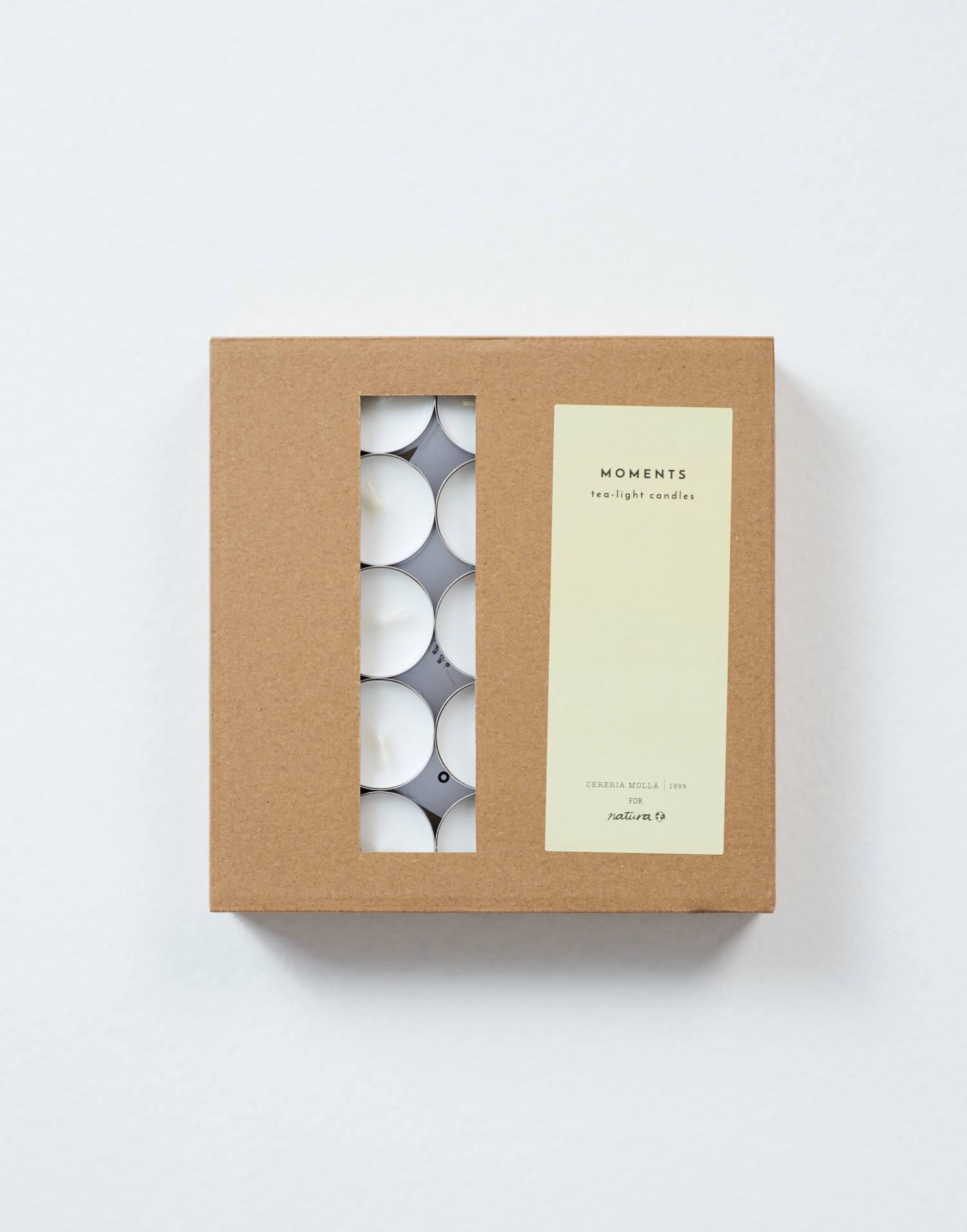 Confezione 50 candele tealight
