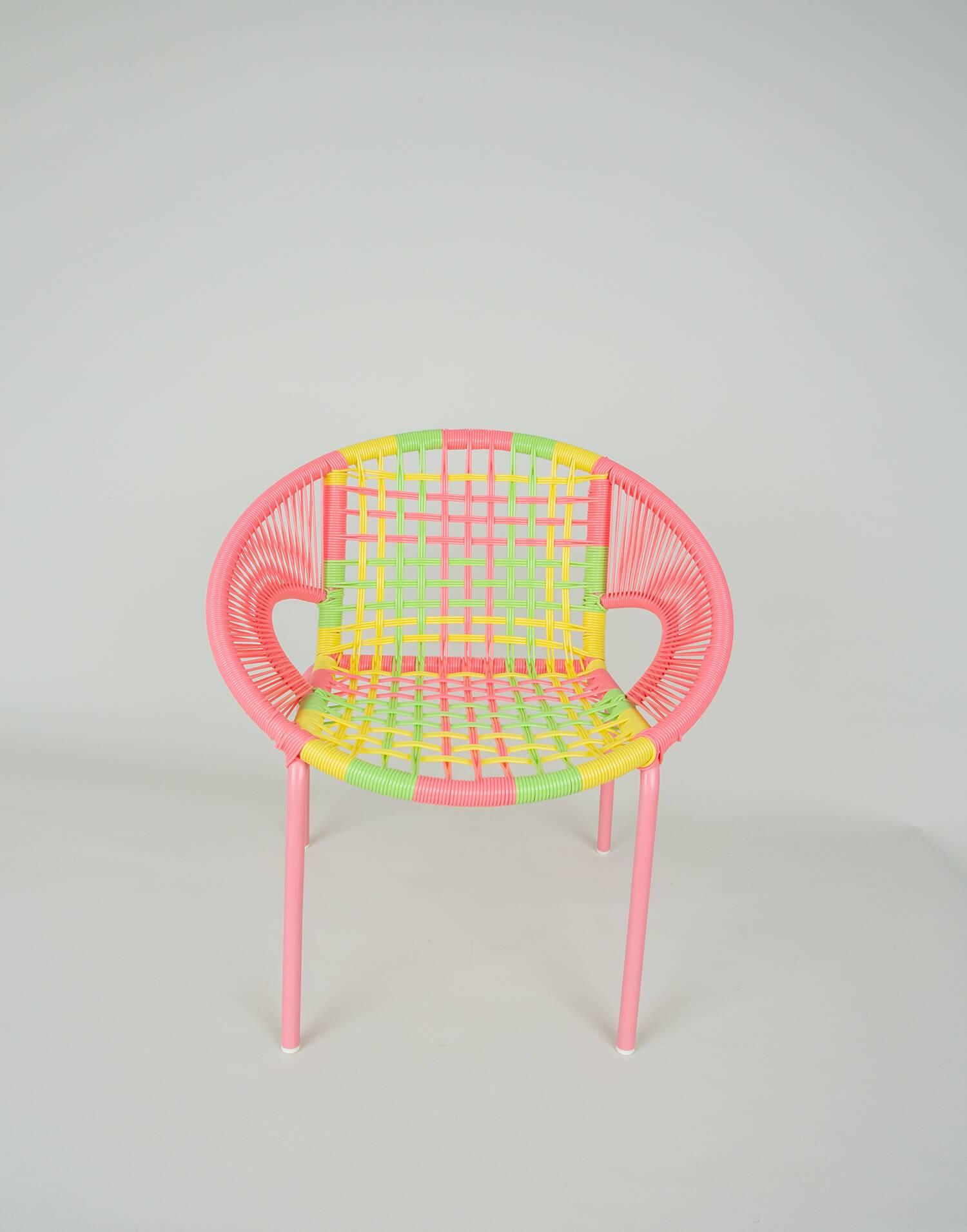 Multicolor children's armchair