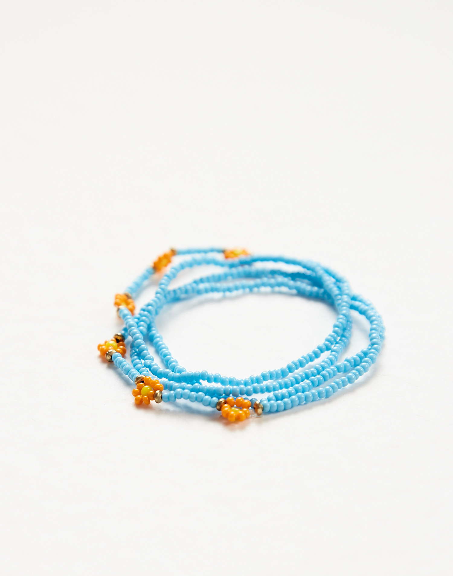 Beaded bracelet set of 5