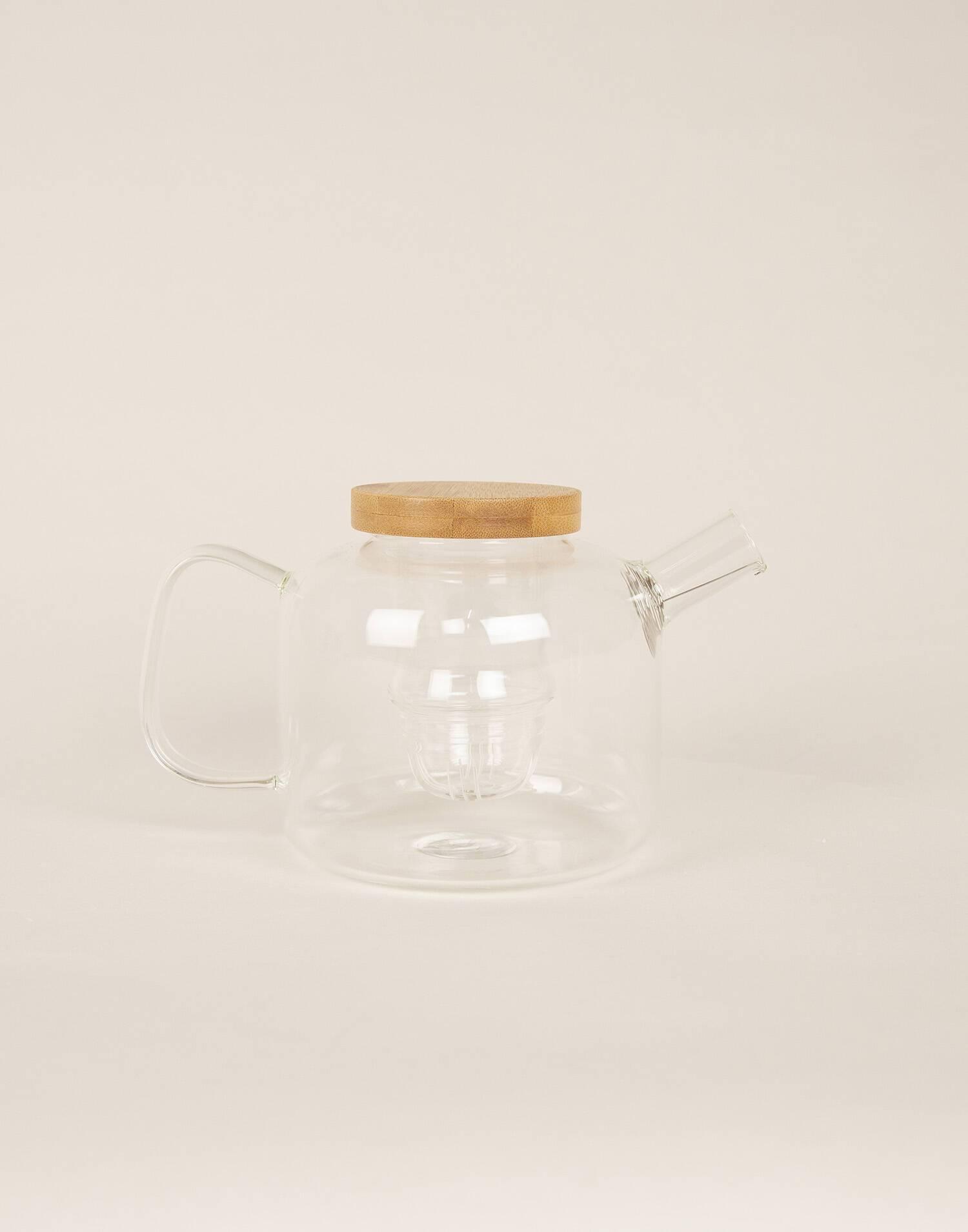 Glass teapot 750ml
