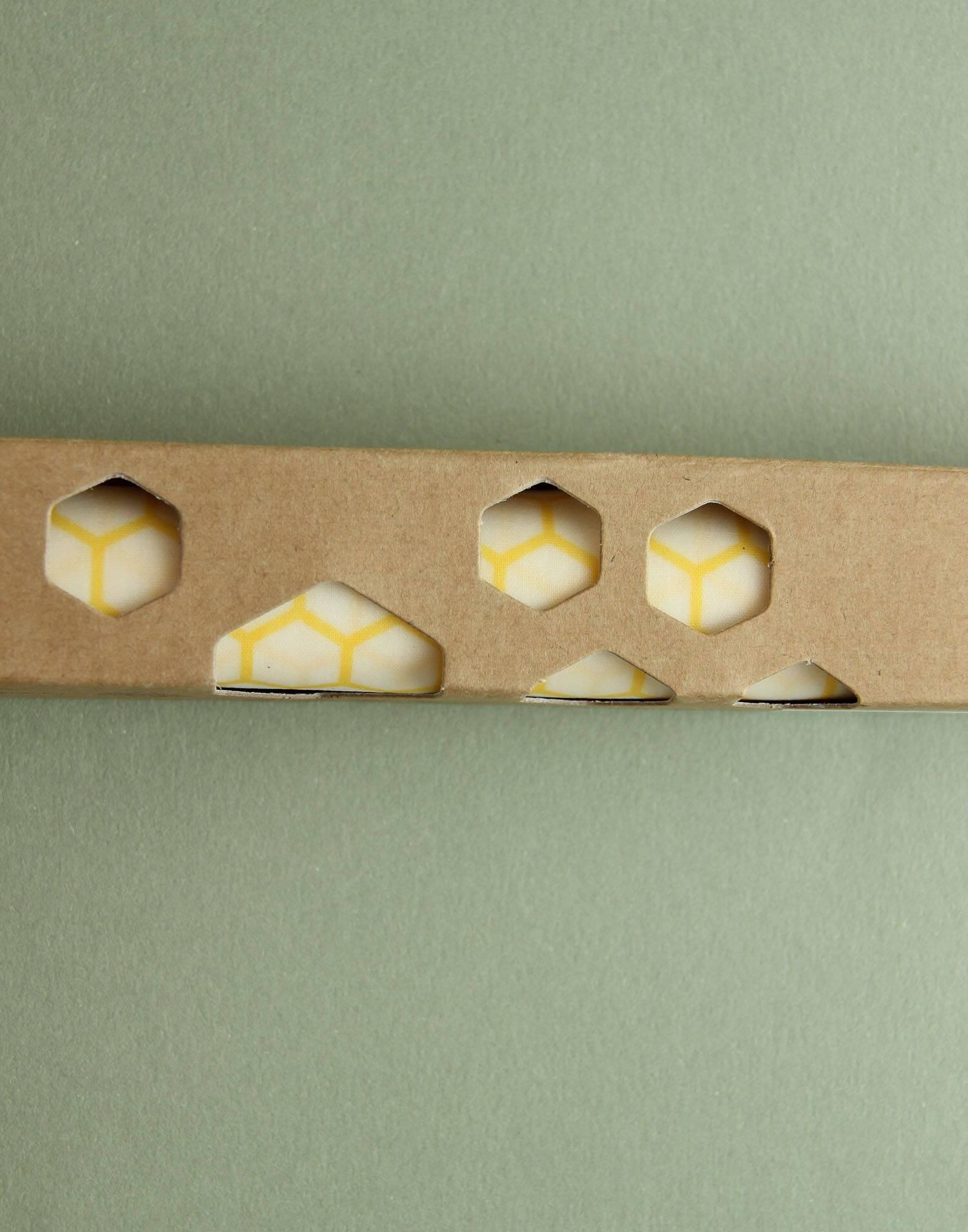Rollo papel de cera abejas