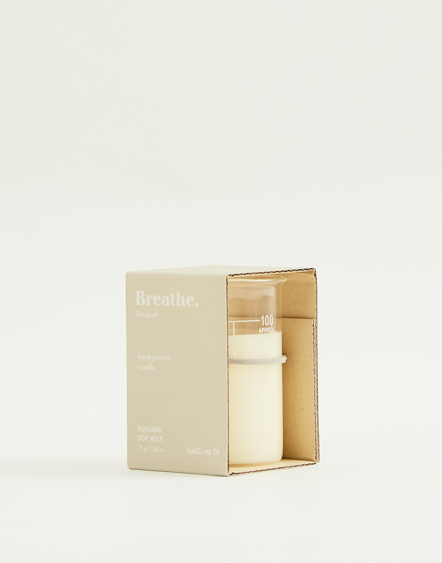 Soy wax candle 75gr