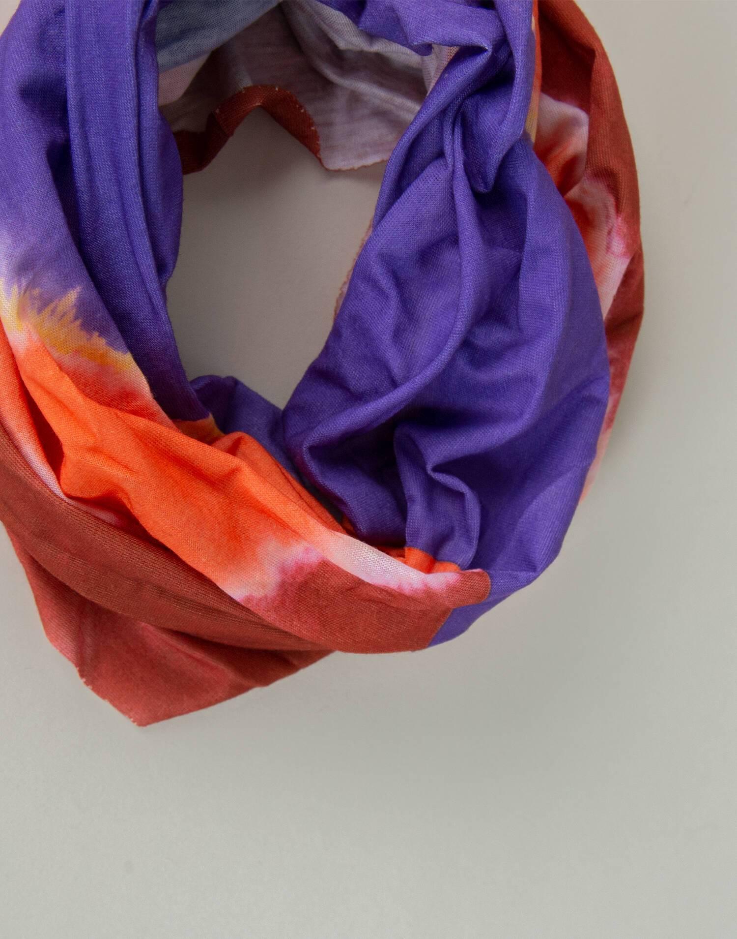 Bandana multiposición tie dye