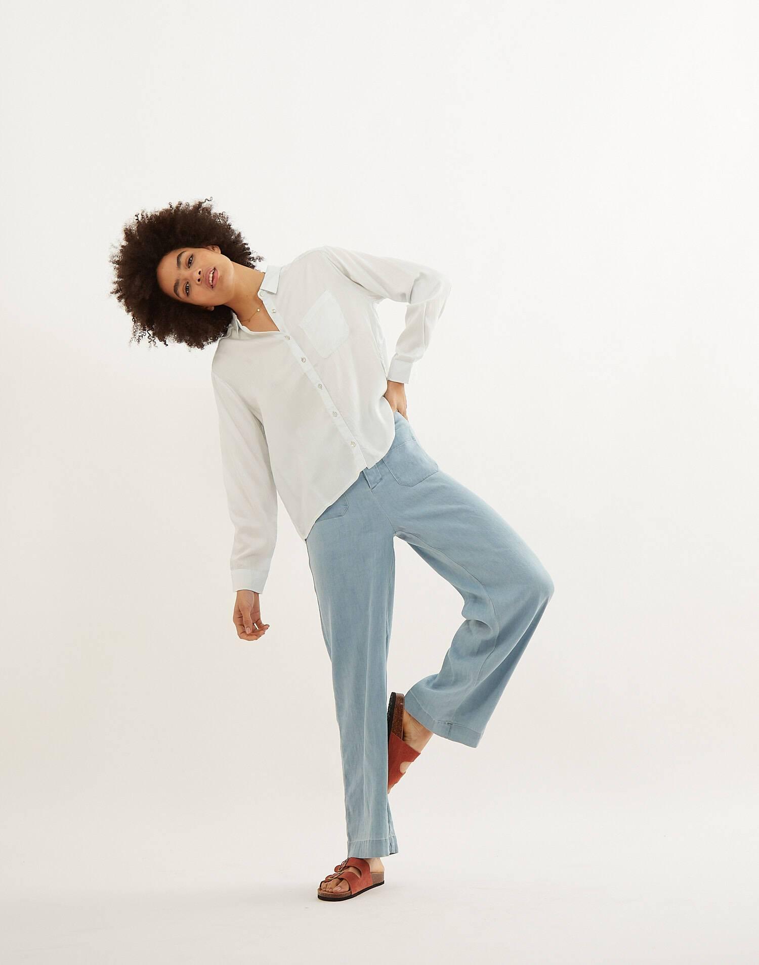 Camicia maniche lunghe setosa