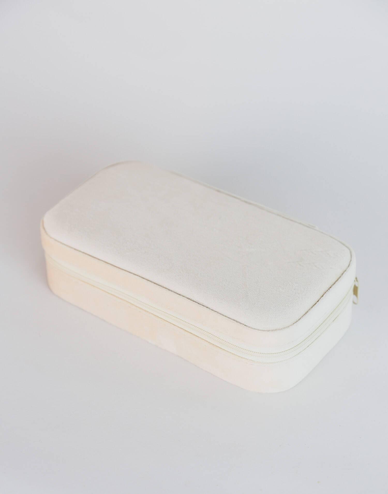 Large  velvet jewelry box
