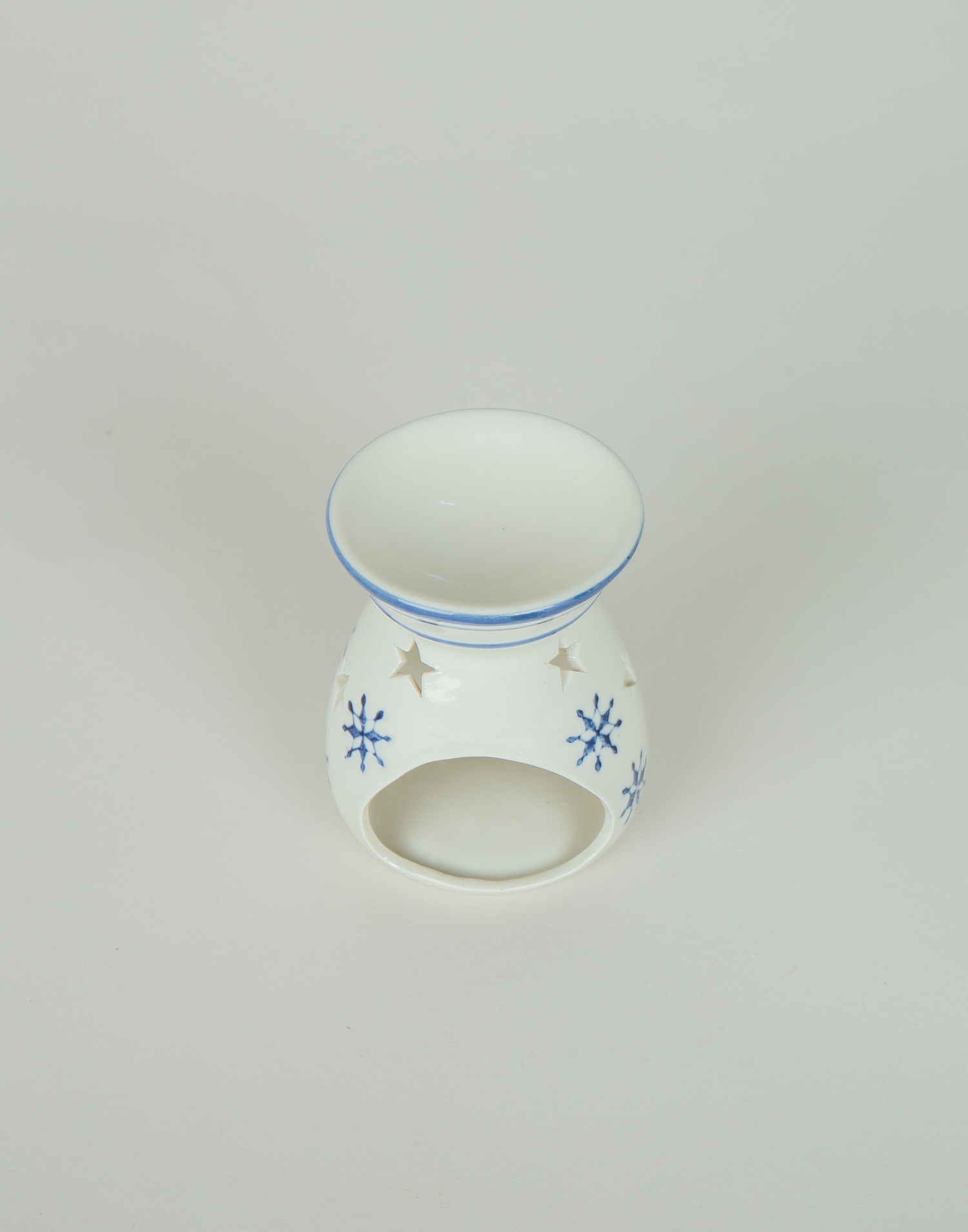 Quemador cerámica estrella nórdica