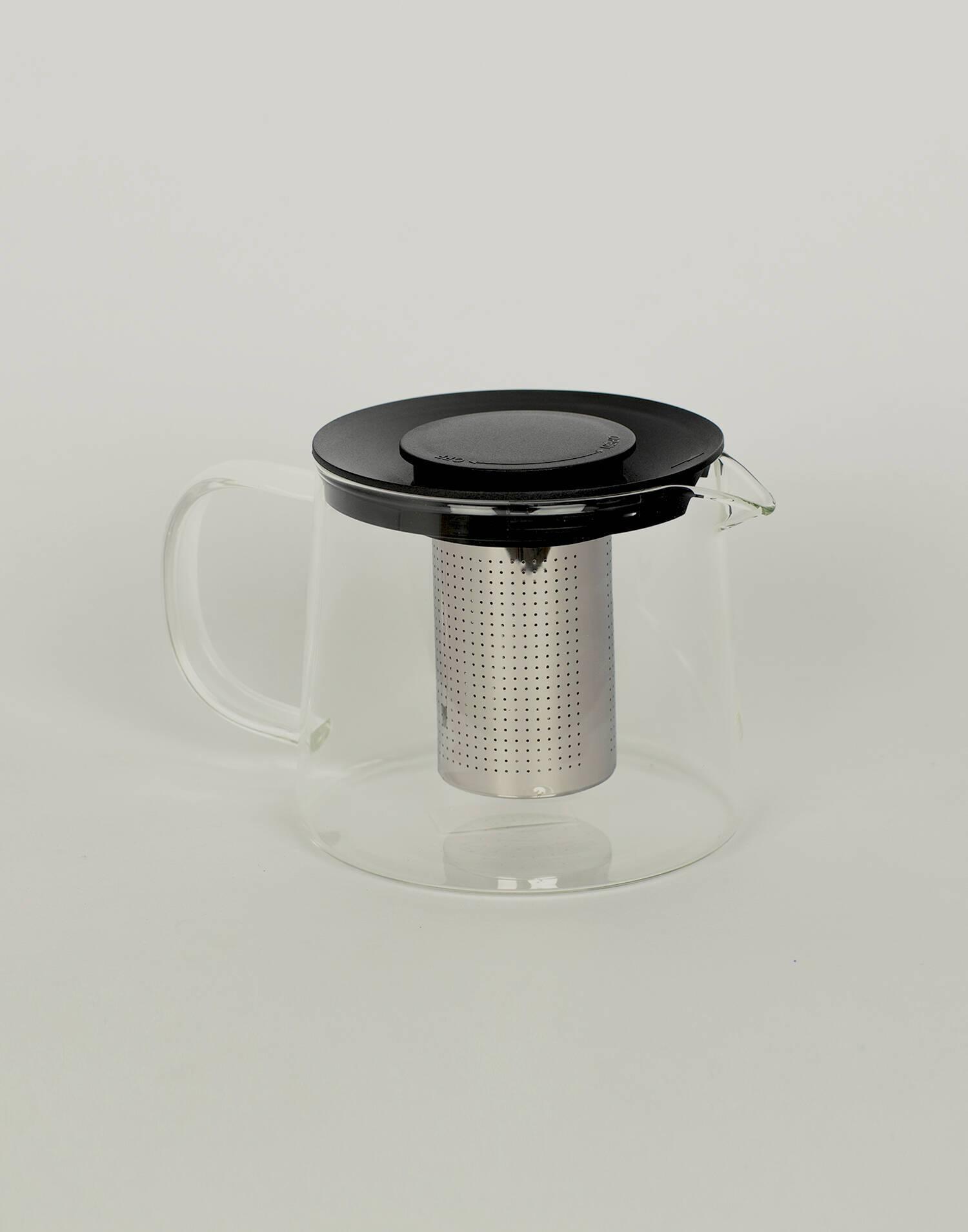 Tetera cristal con infusor