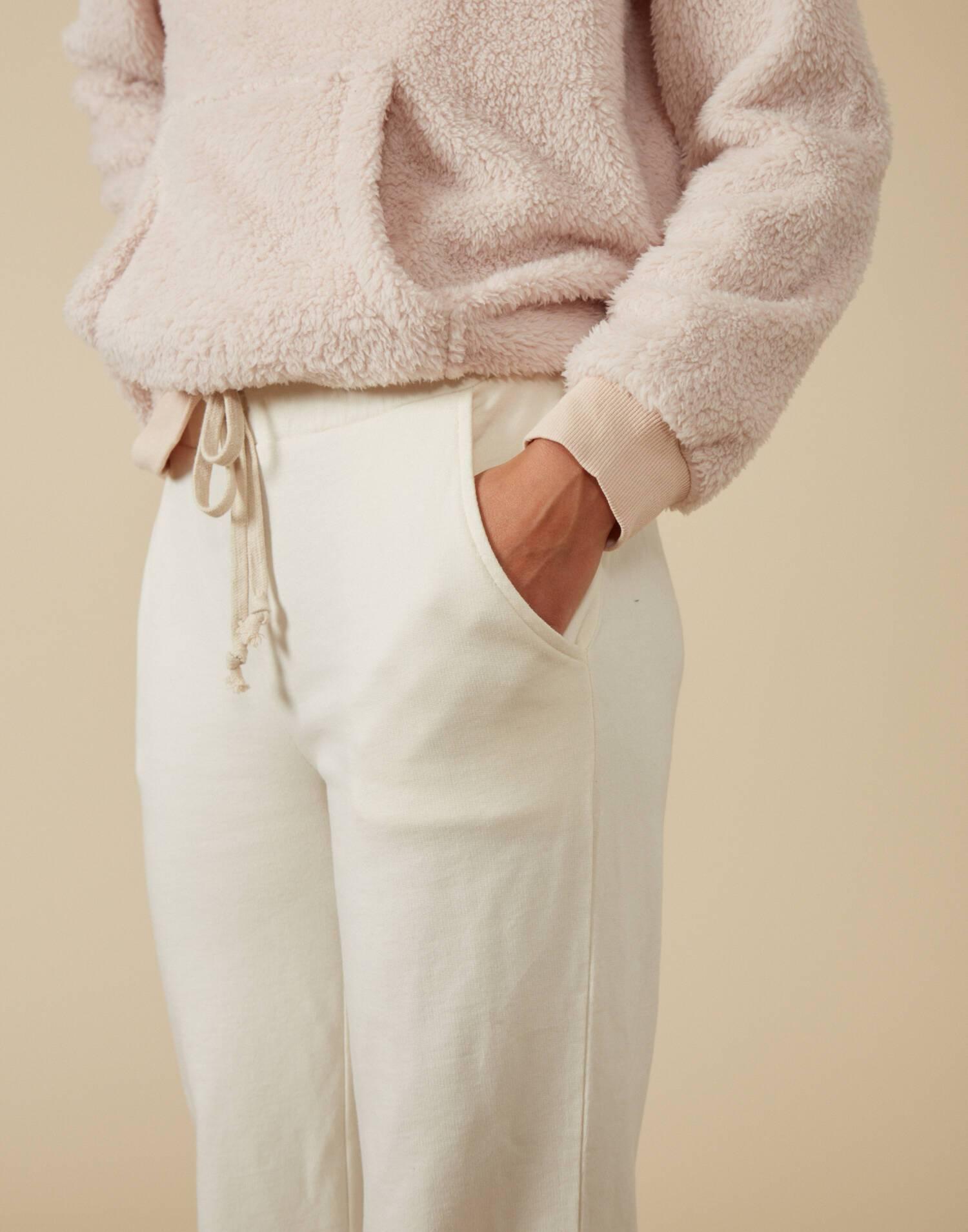 Organic cotton flare pant