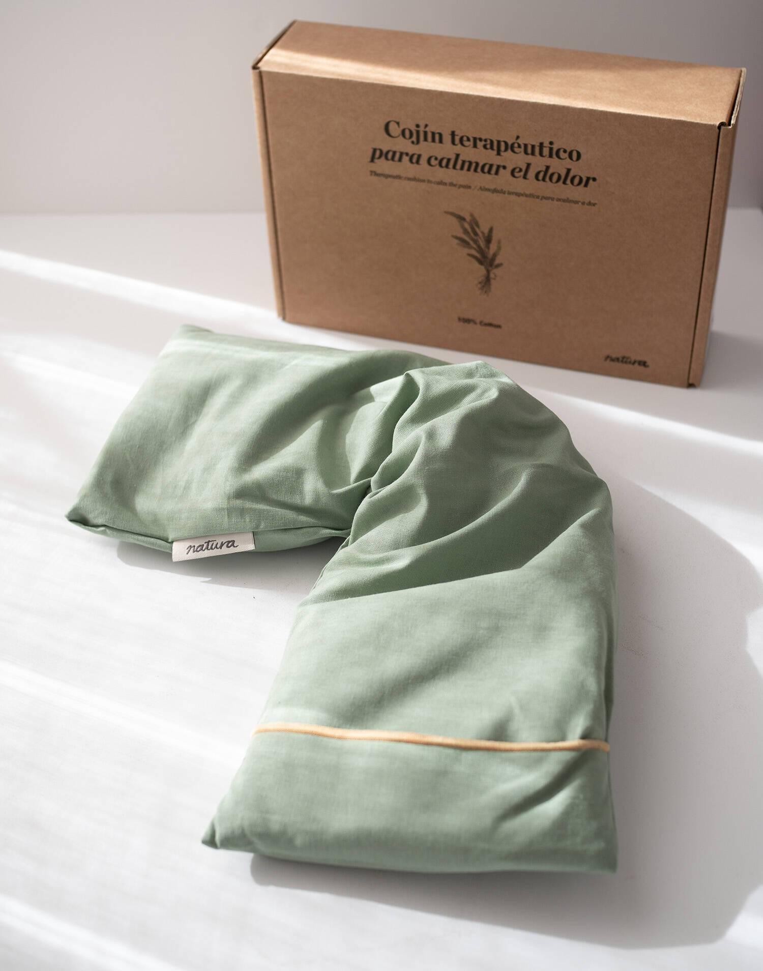 Cojín cervical con funda
