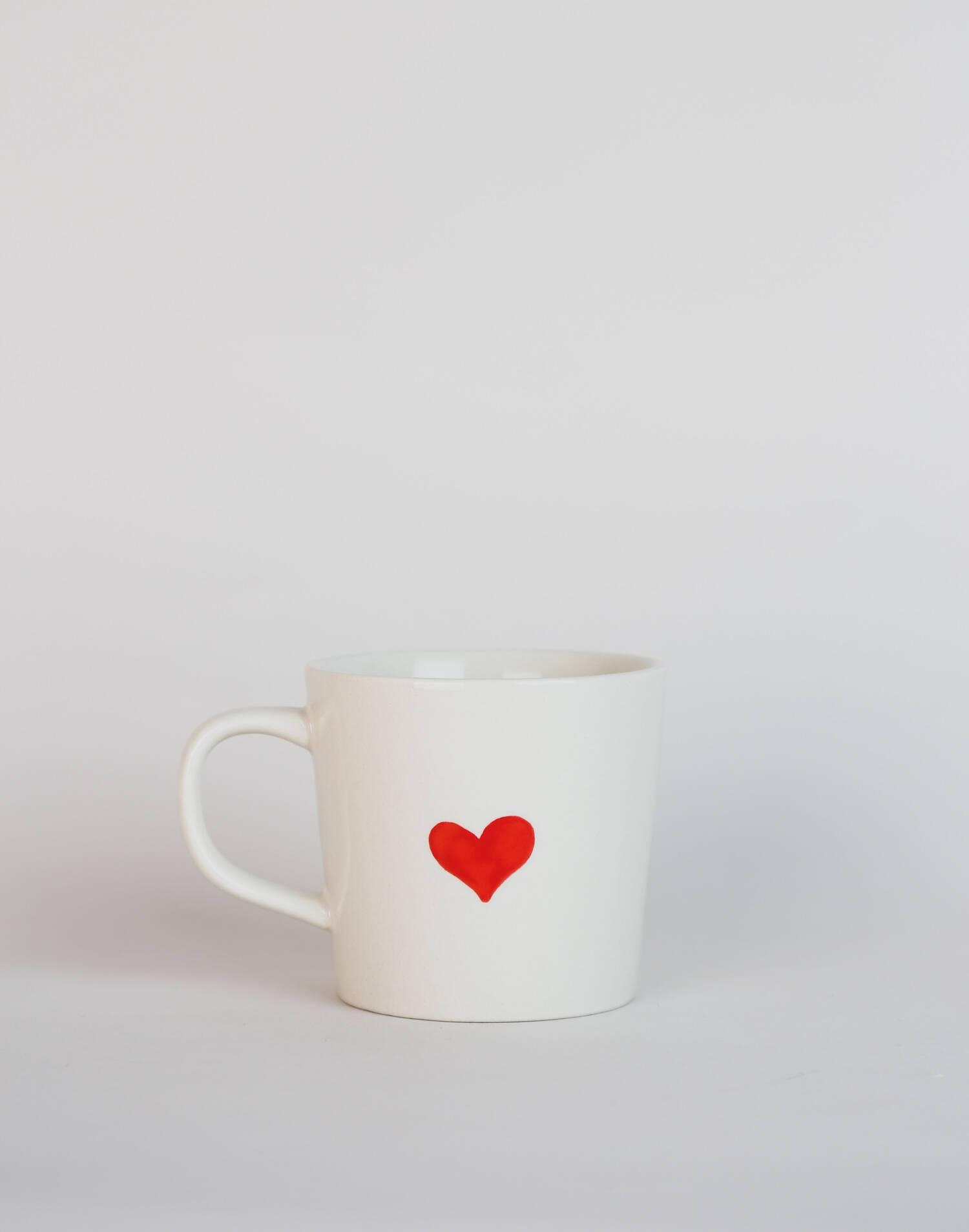 Tasse cœur