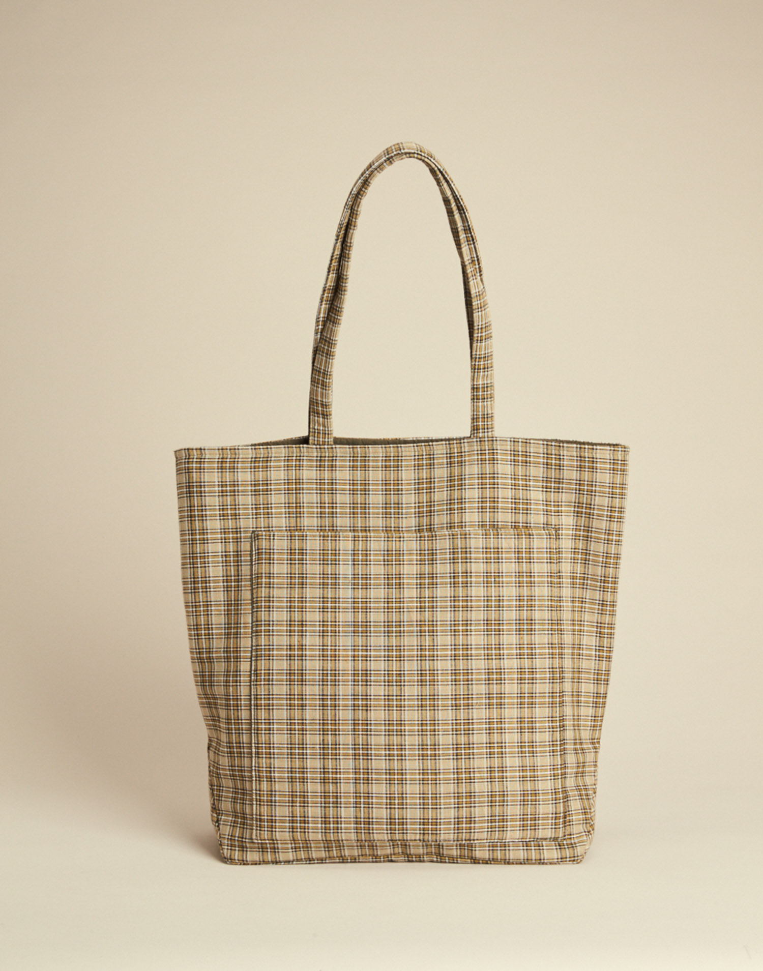 SQUARED TOTEBAG WITH ZIPPER
