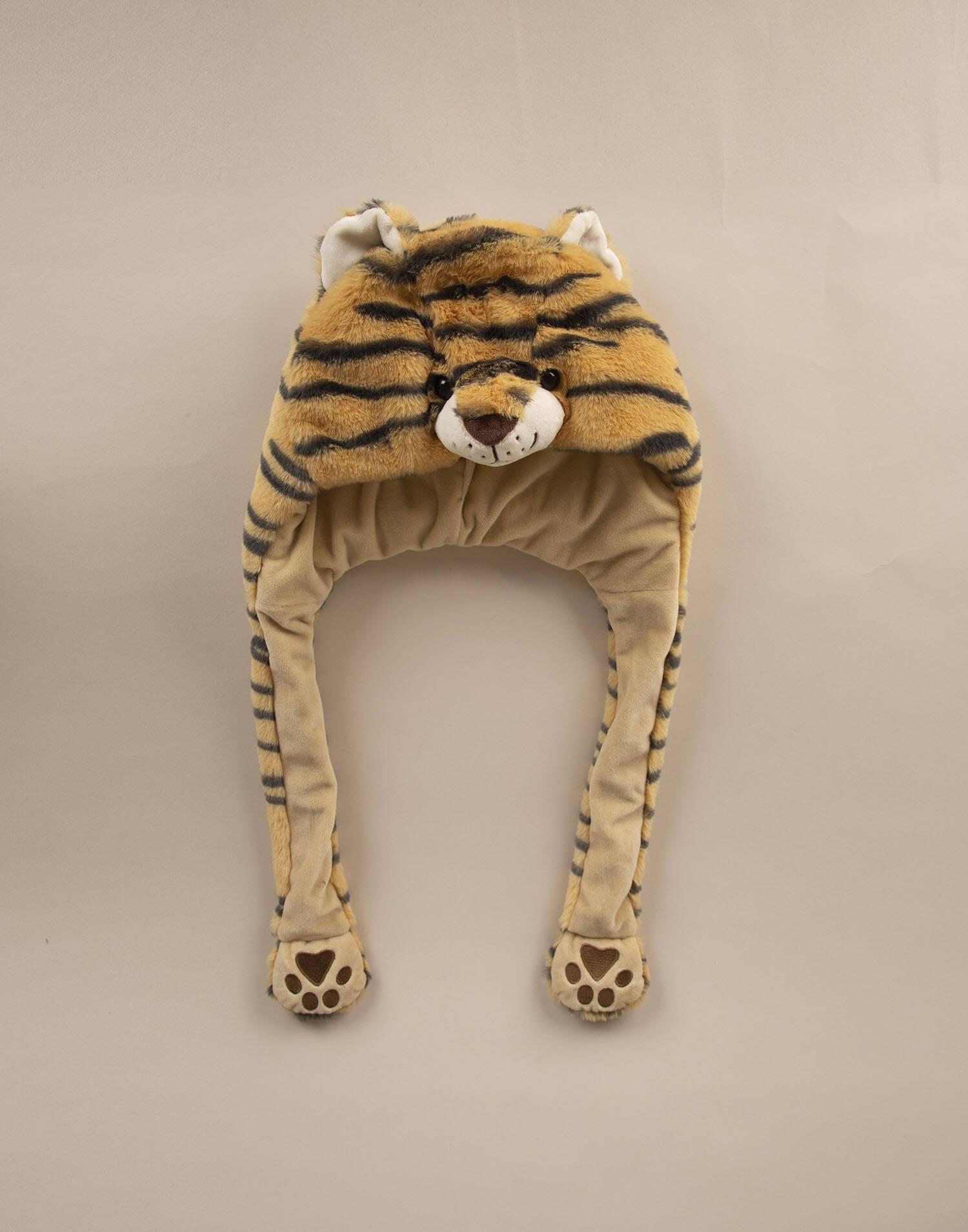 Gorro bufanda tigre