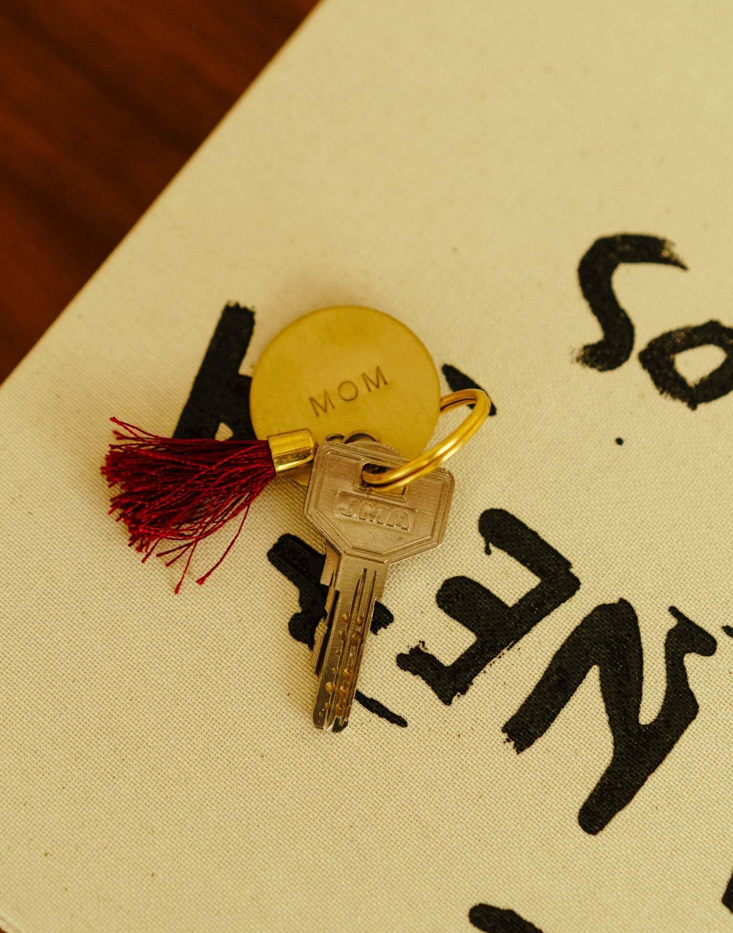 Pom pom key-chain