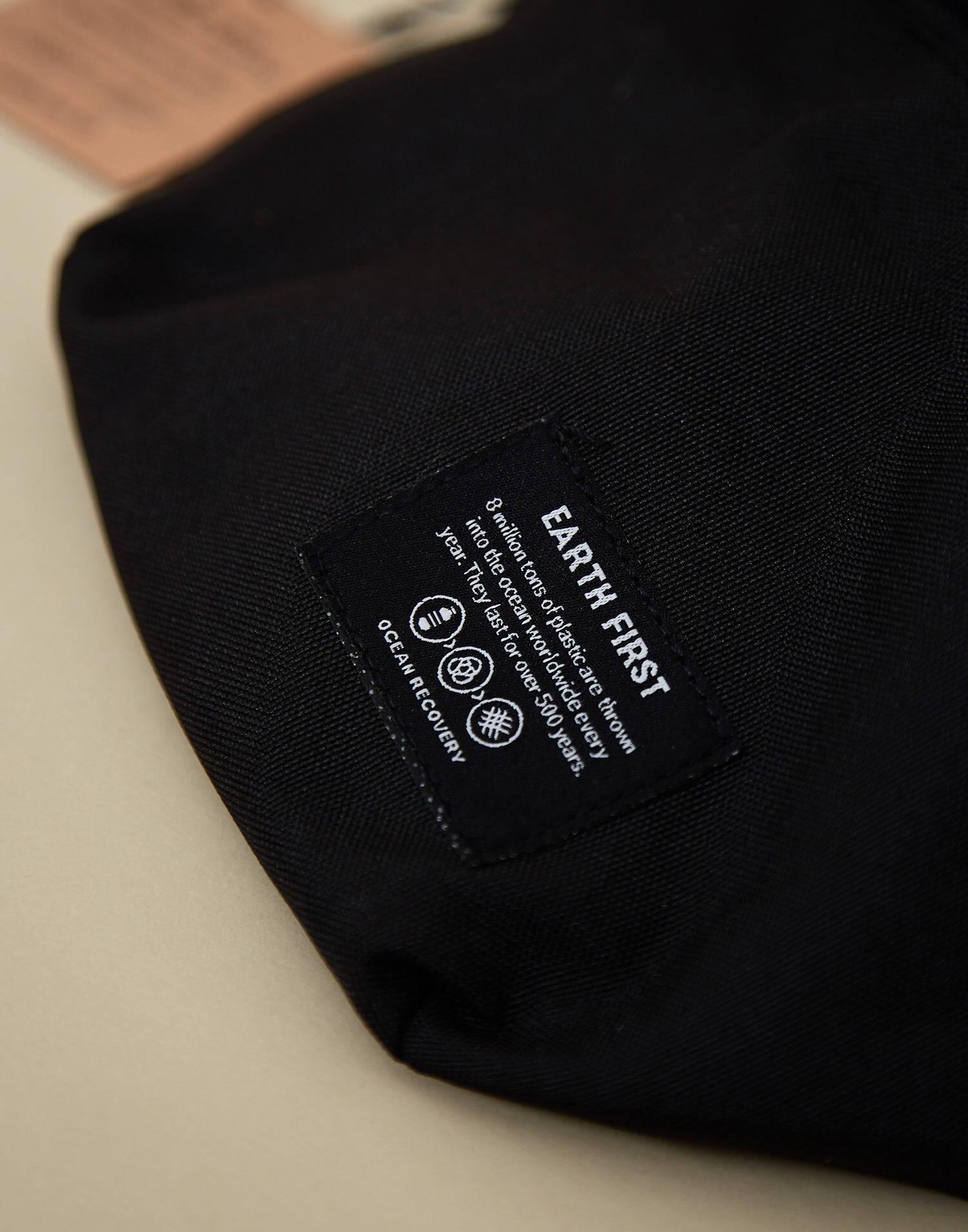 Recycled plastic belt bag