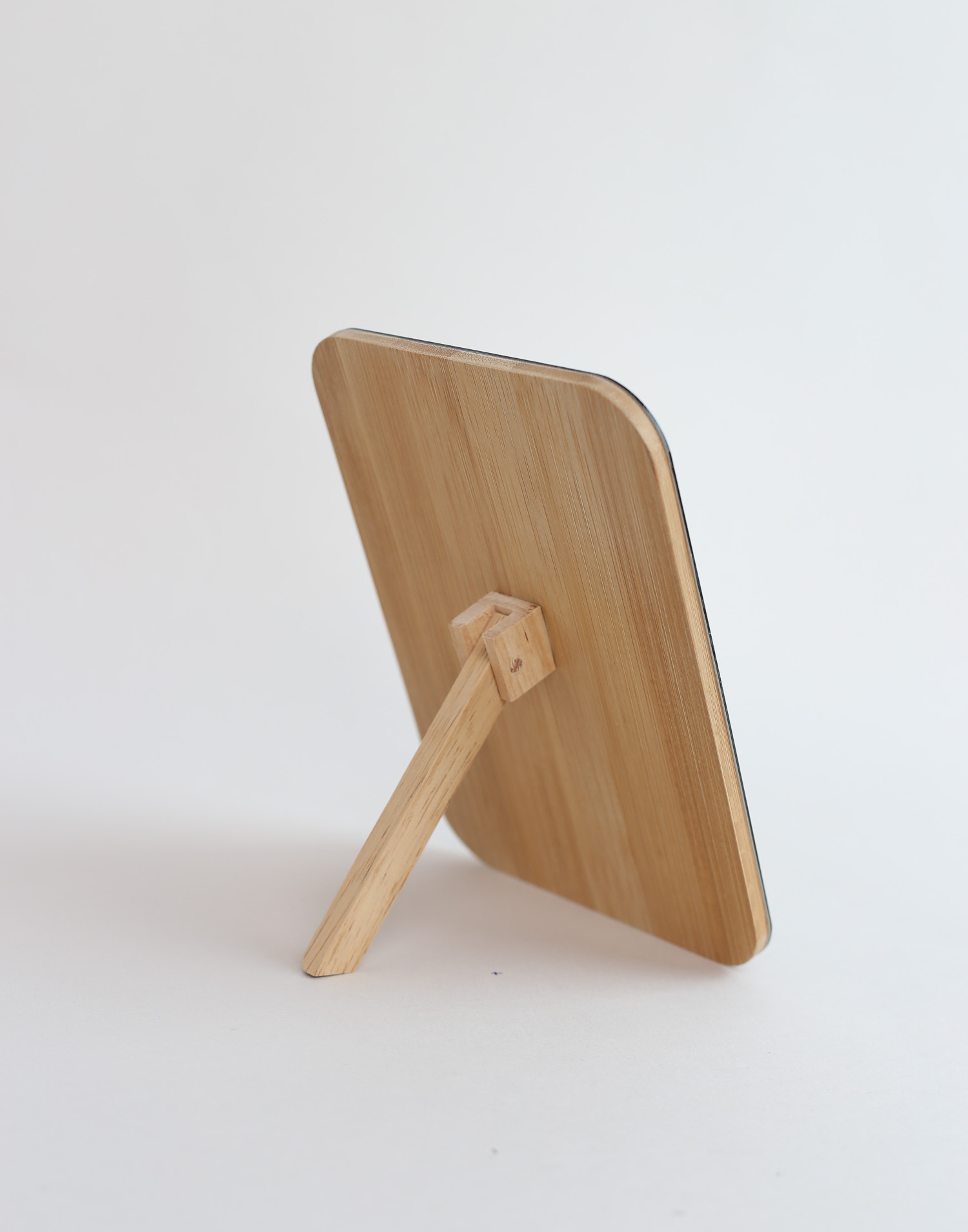 Espejo sobremesa bambú