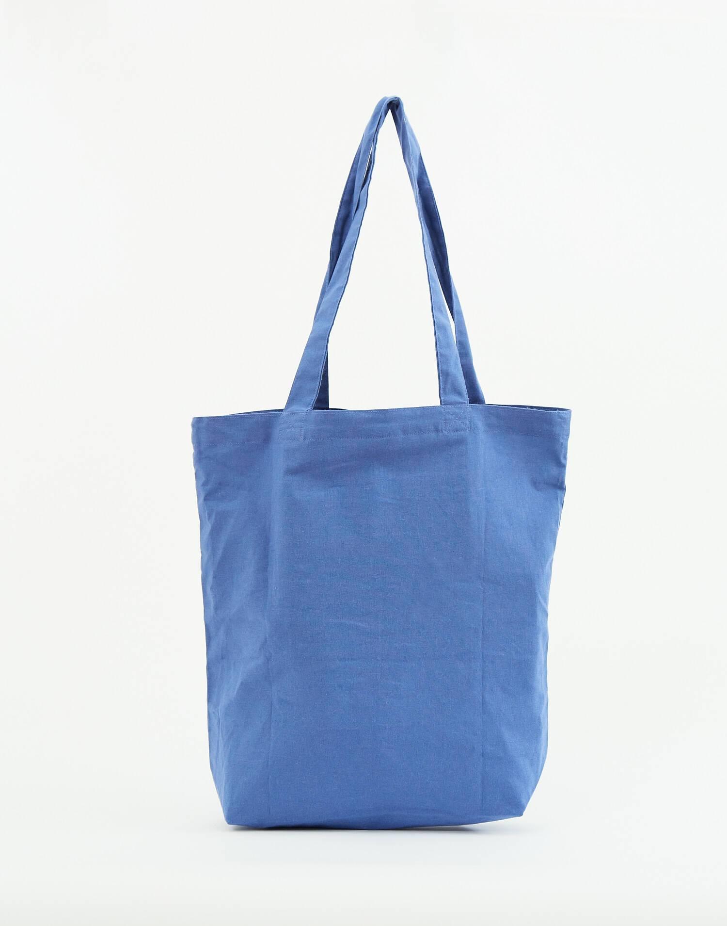 Foldaway cotton tote bag