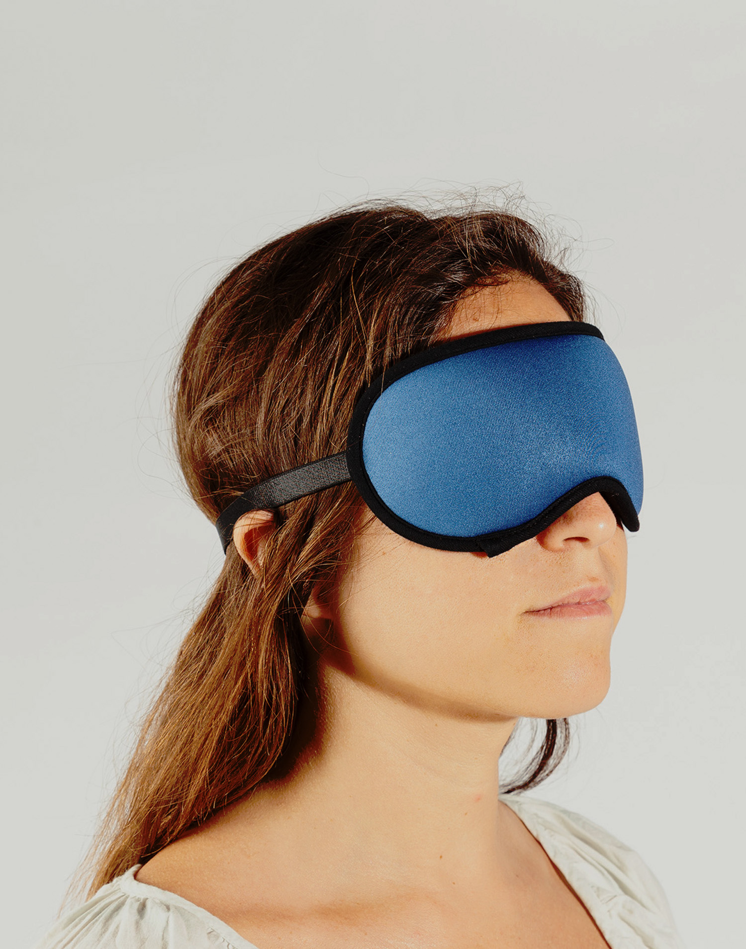 Foam sleep mask