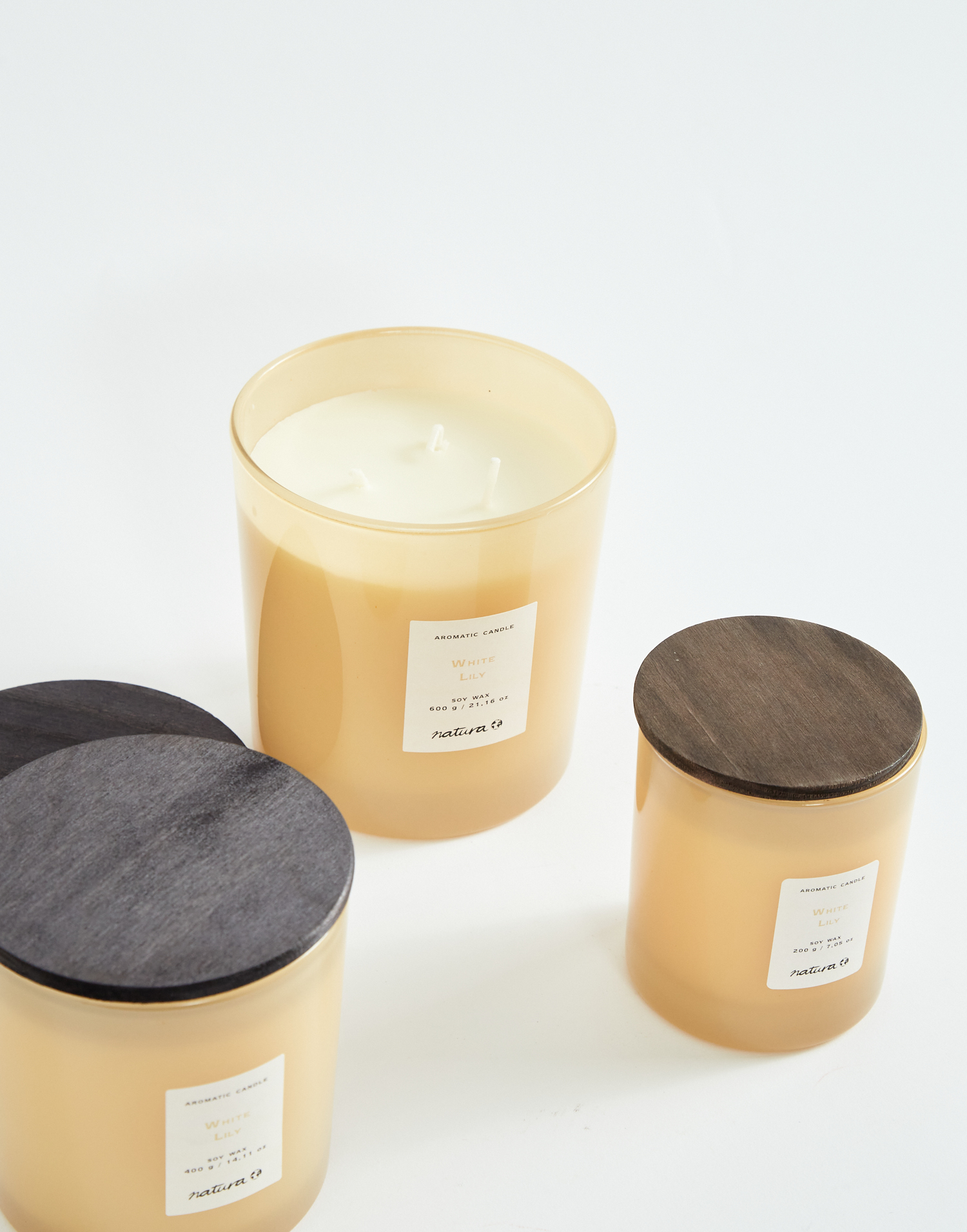 Vela de soja perfumada 600gr