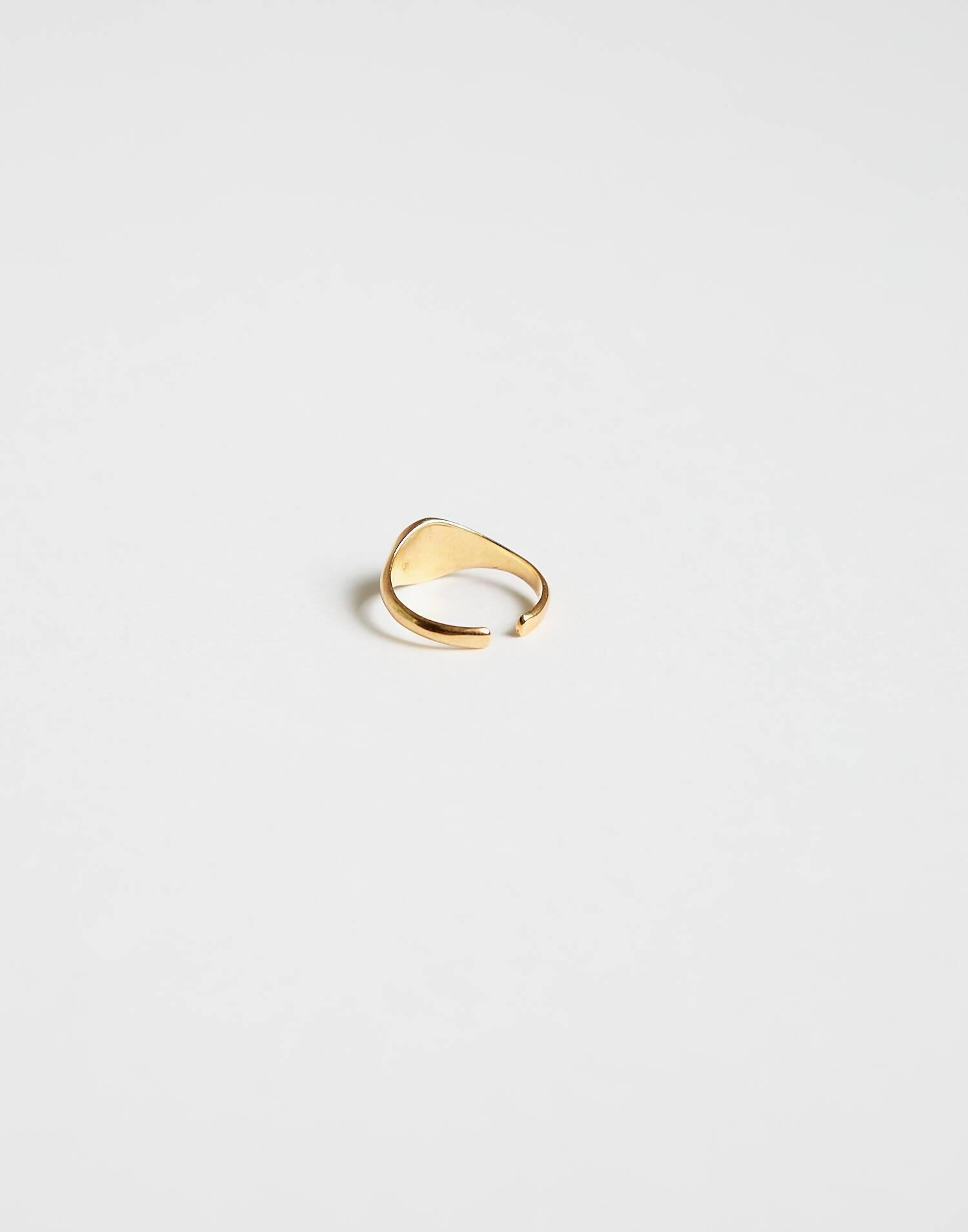 Golden star ring