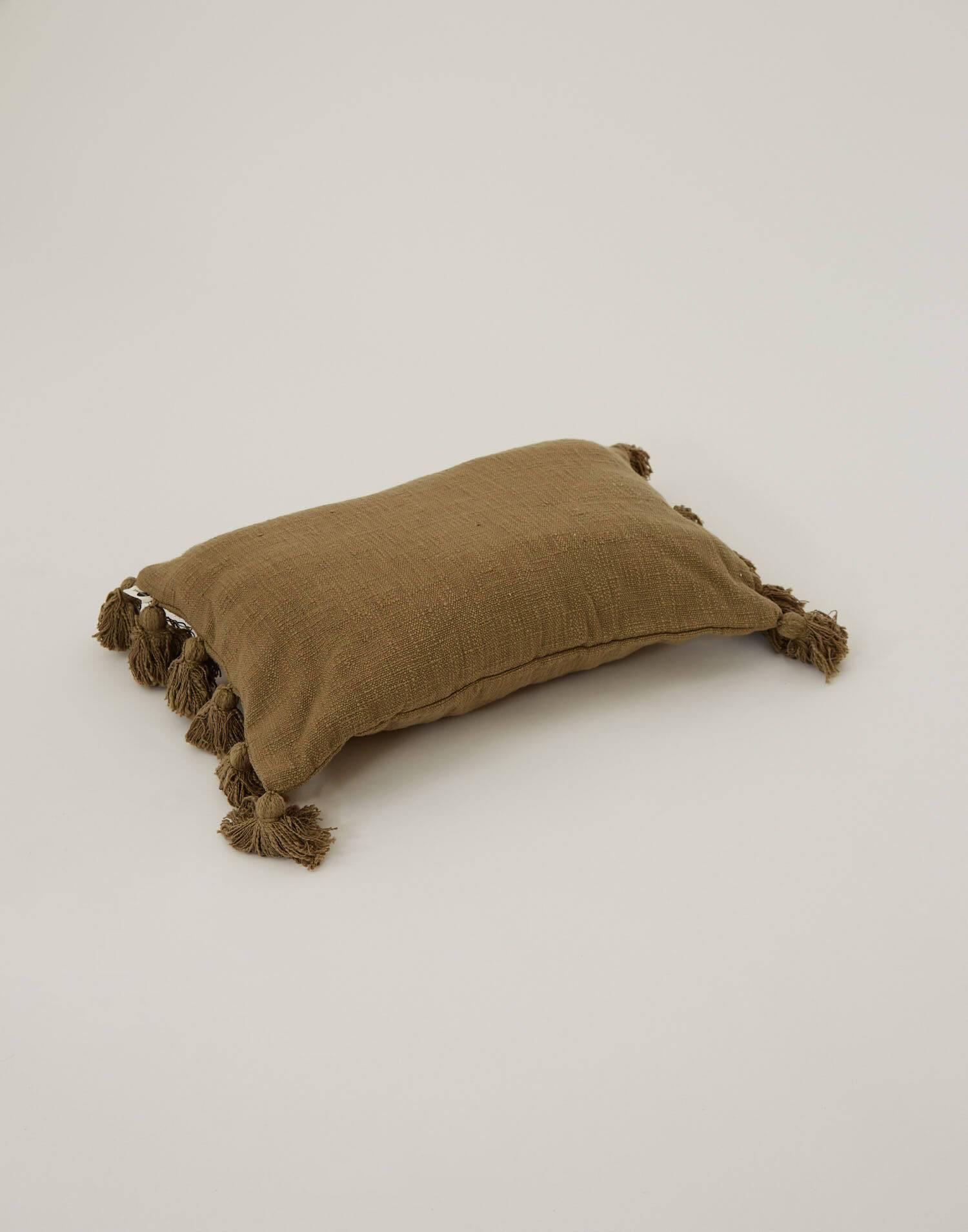 Housse coussin tassels 45 x 45 cm
