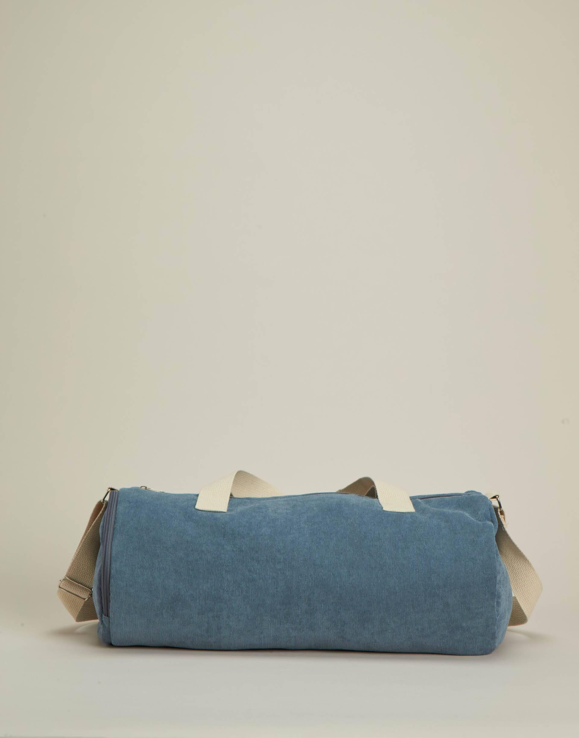 Corduroy weekend bag