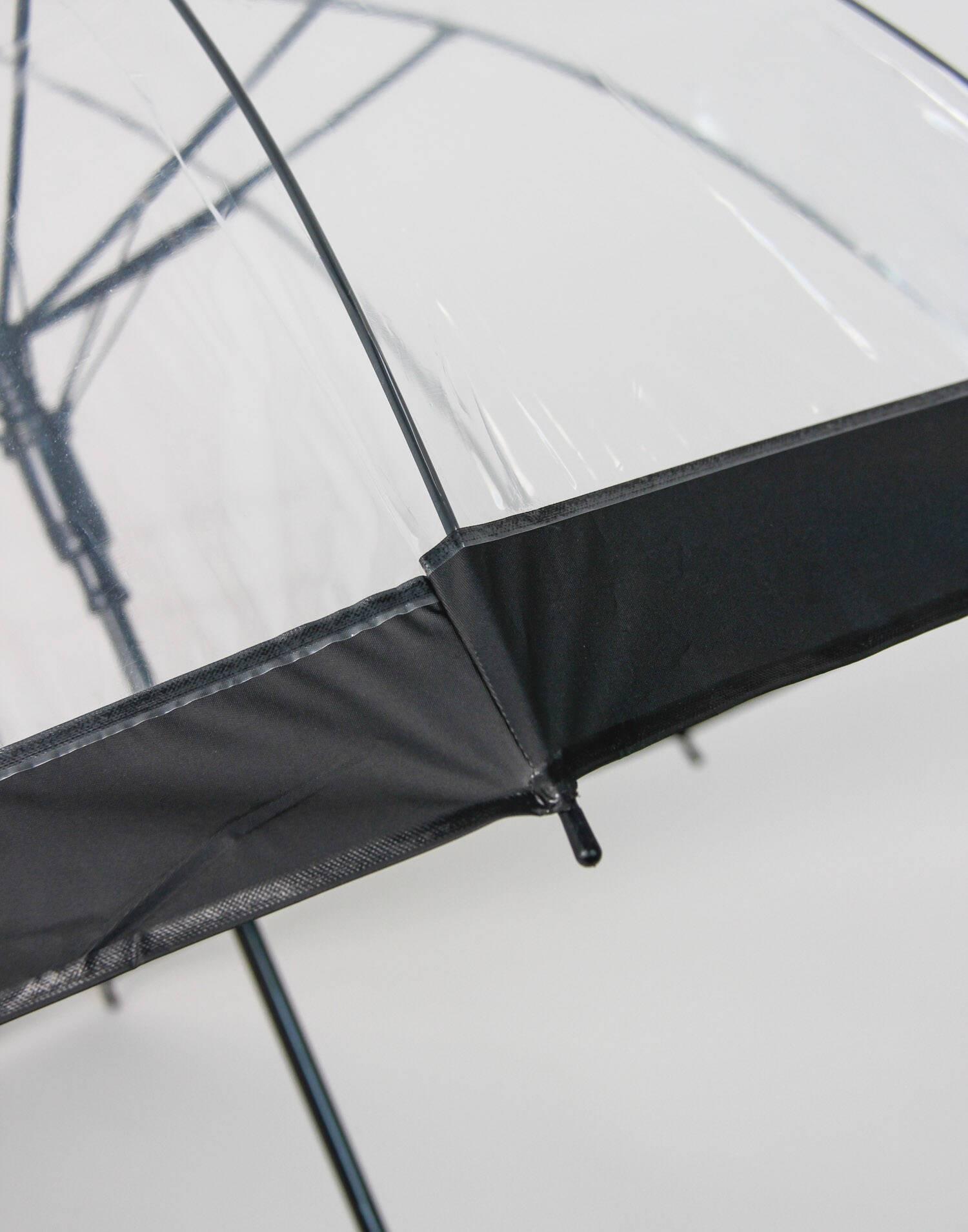 Transparent bubble umbrella