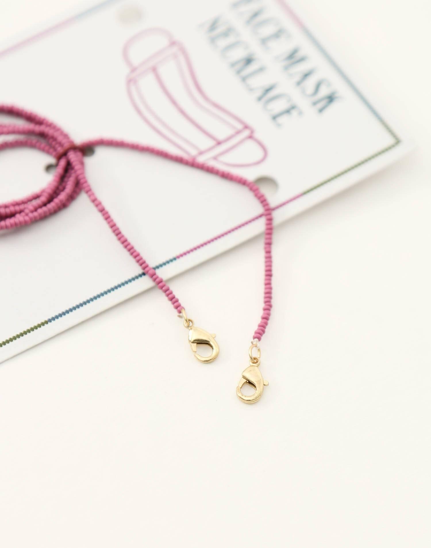 Mask bead chain
