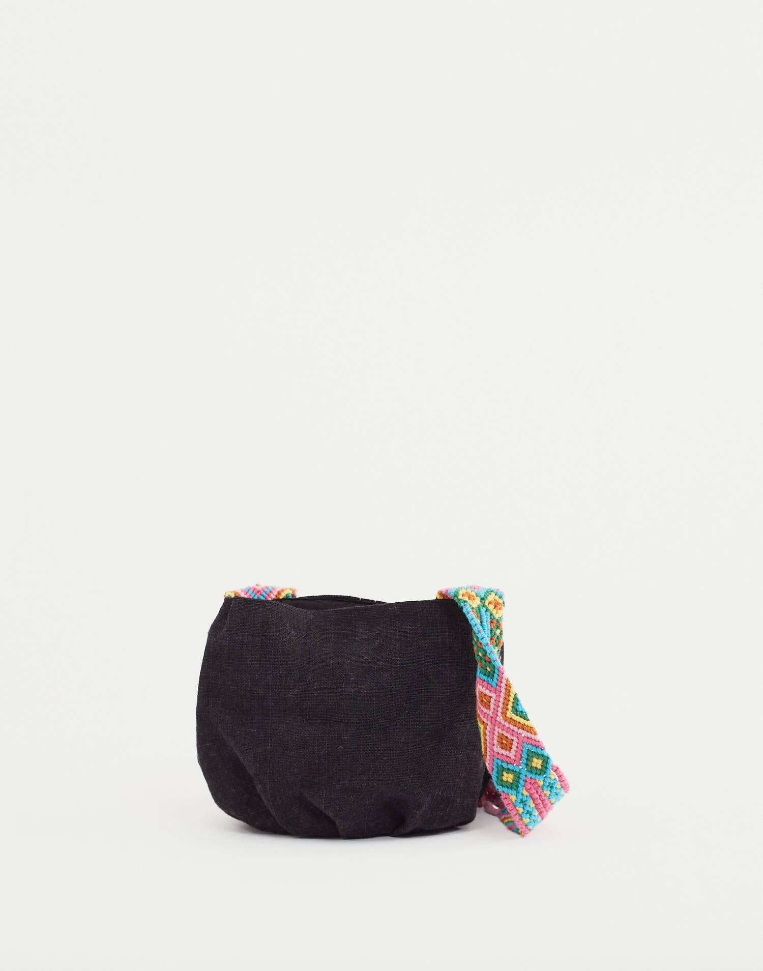 Crossbody woven bag